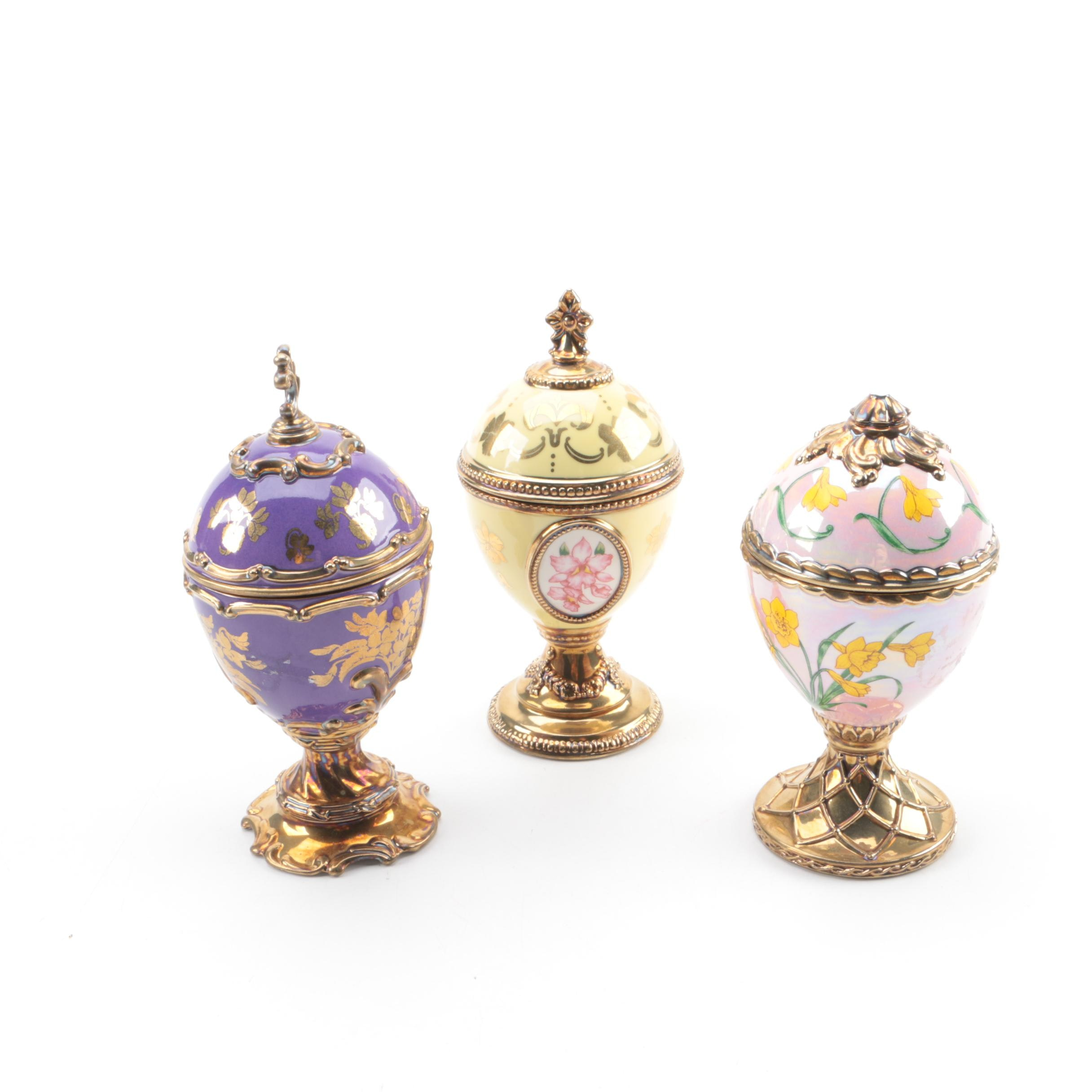 House of Fabergé Musical Eggs