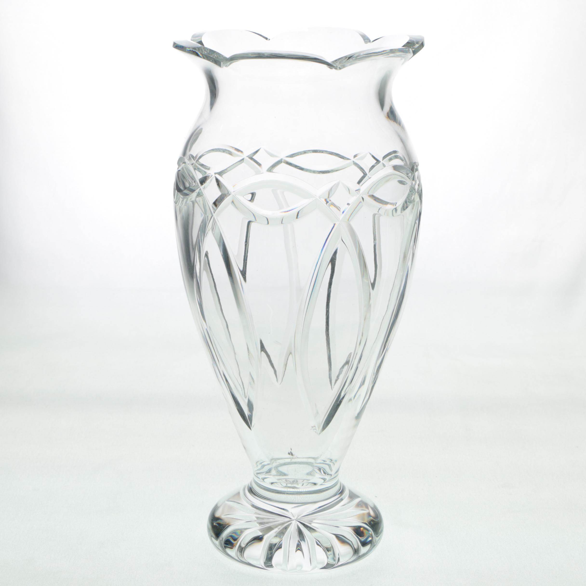 "Waterford Crystal ""Clannad"" Vase"
