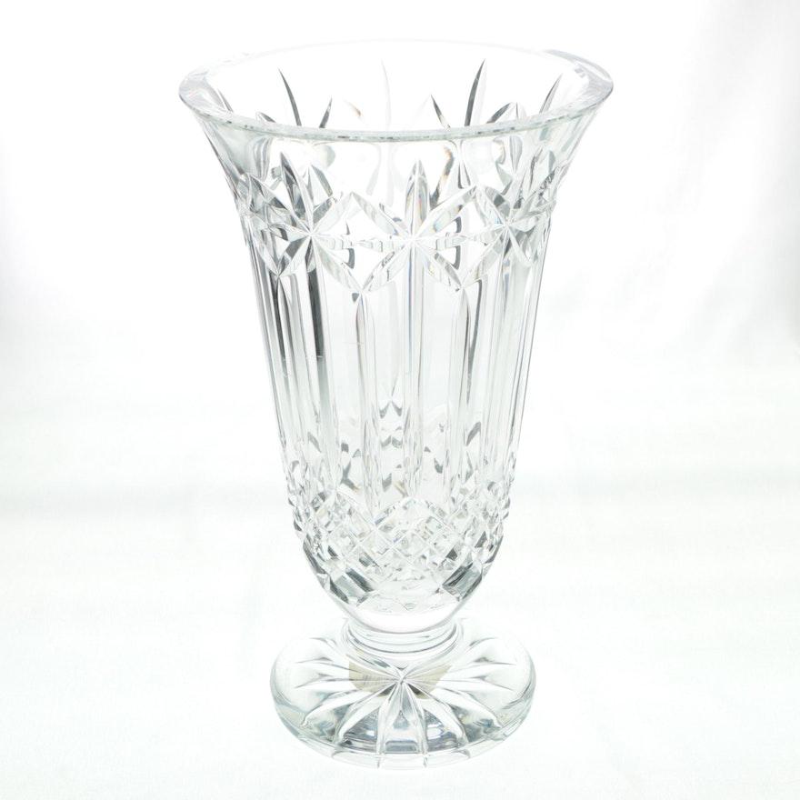 Waterford Crystal Balmoral Vase Ebth