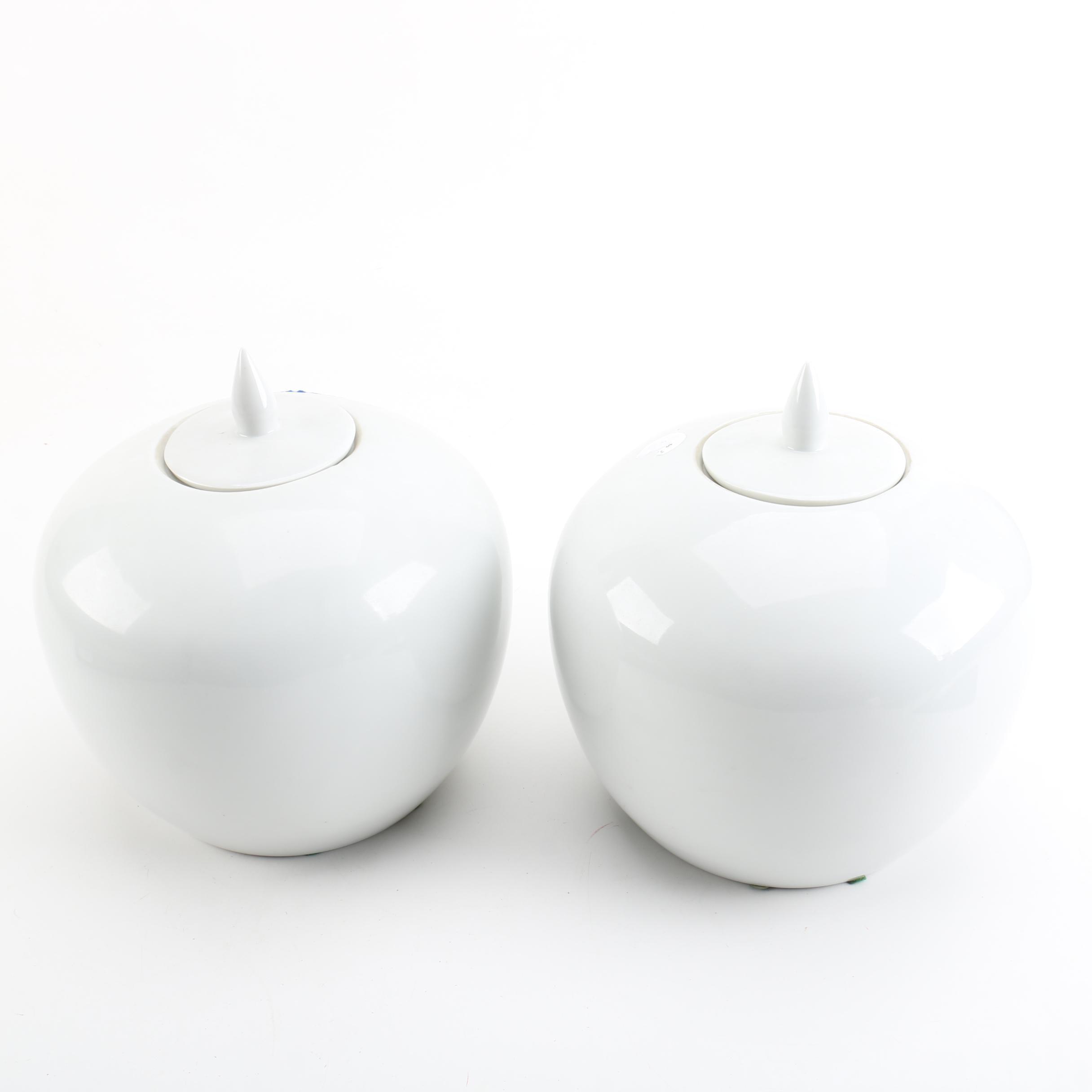 Ceramic Jars by Rubel & Co.