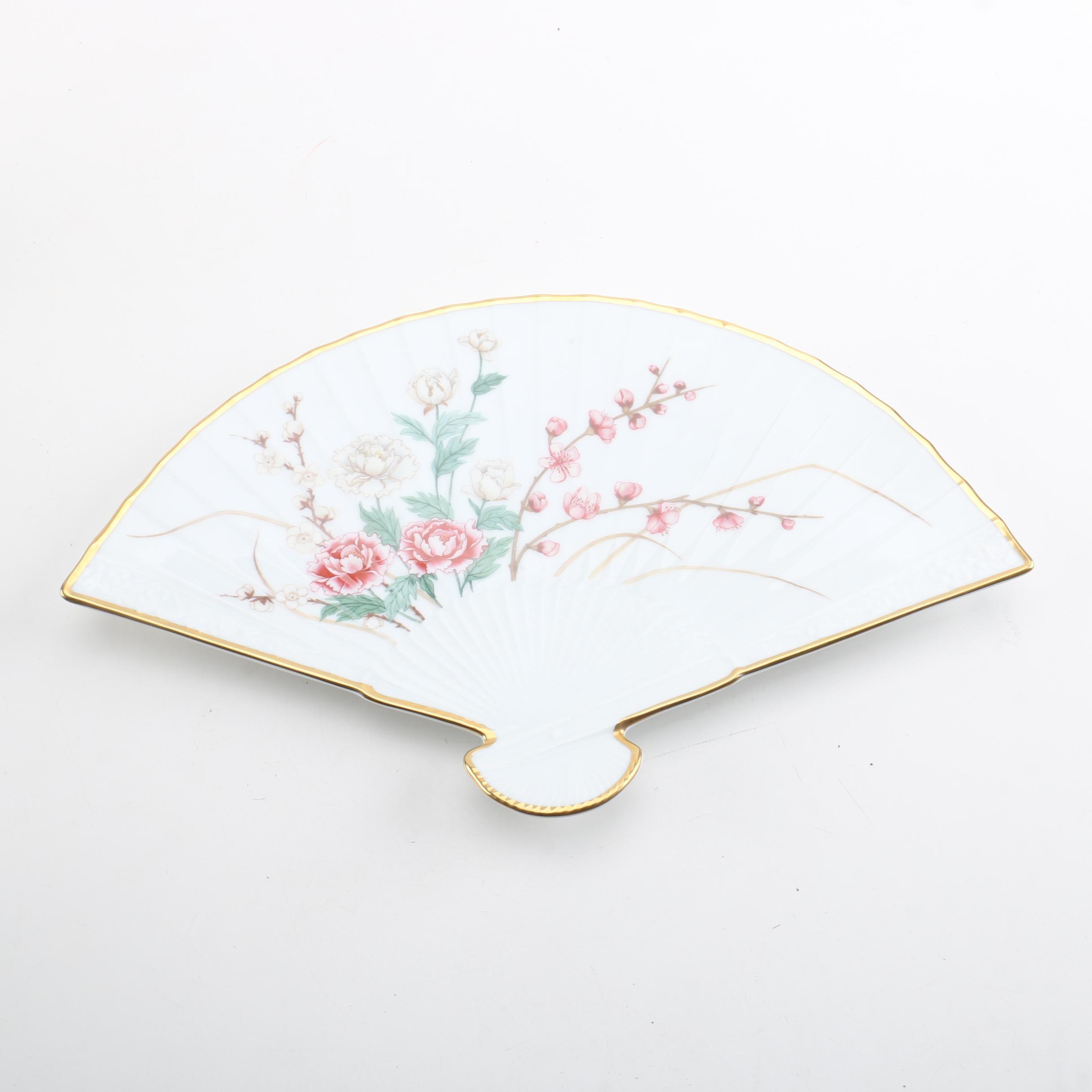 Lenox Porcelain Fan Wall Decor