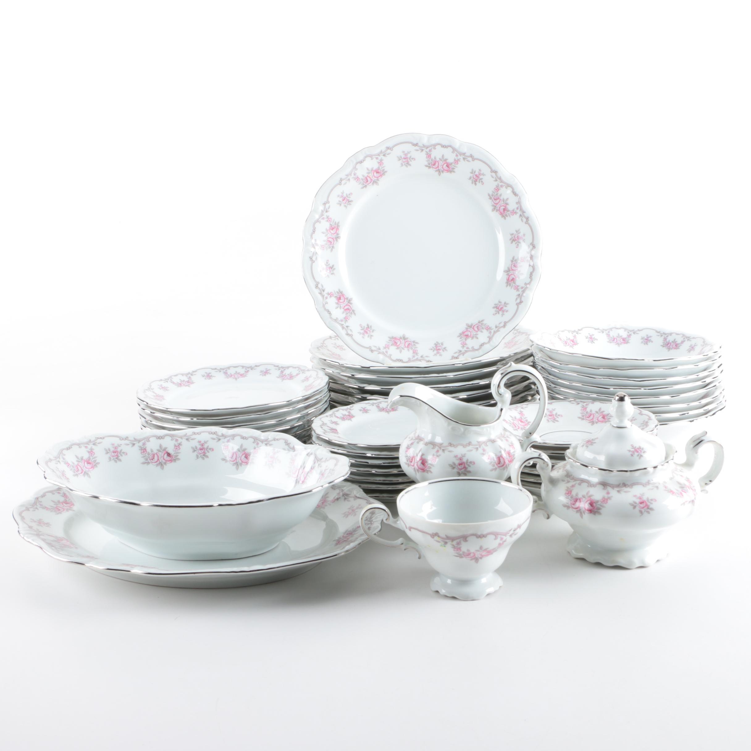 "Johann Haviland ""Petit Point"" Porcelain Tableware"