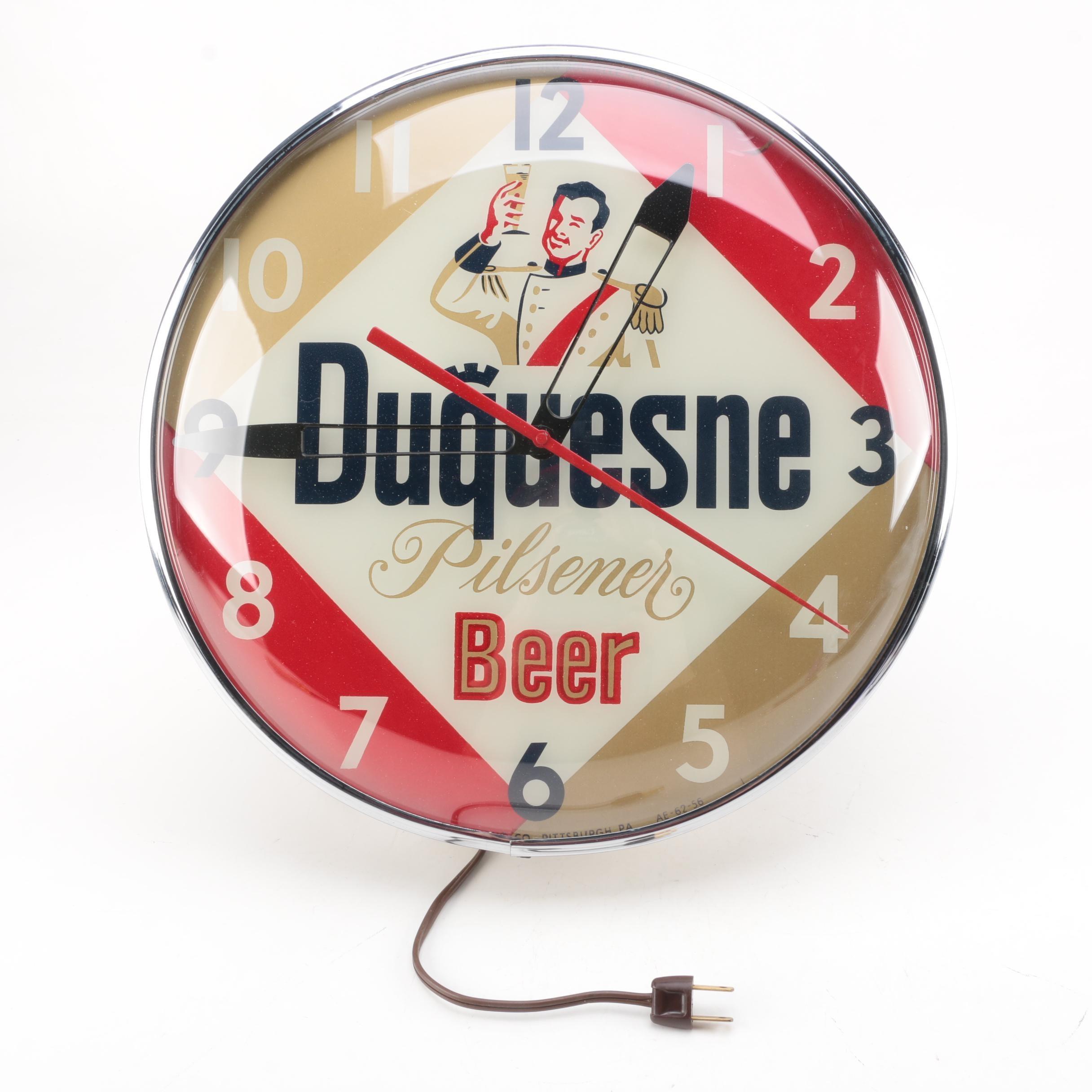 Duquesne Beer Clock