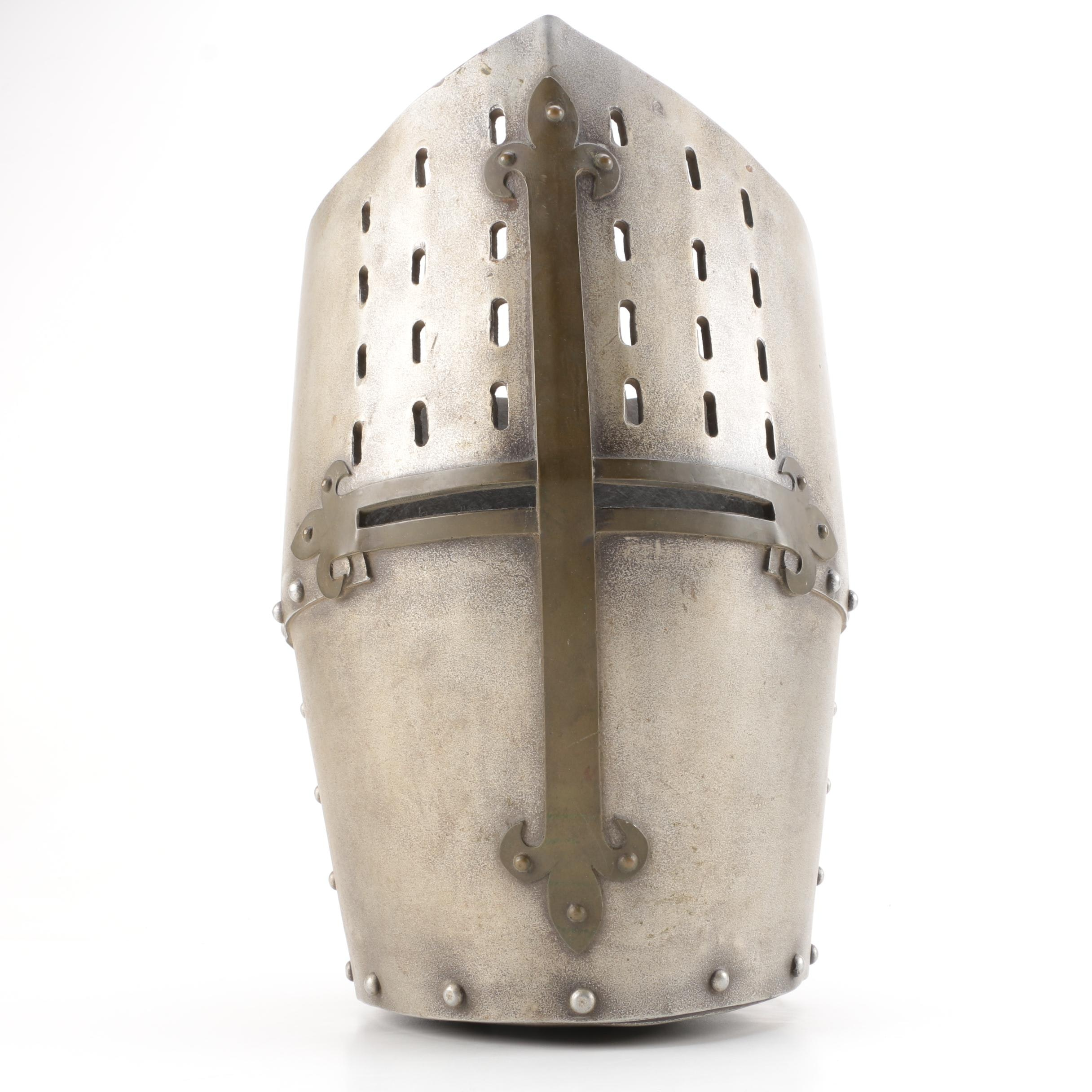 Reproduction Medieval Great Helm