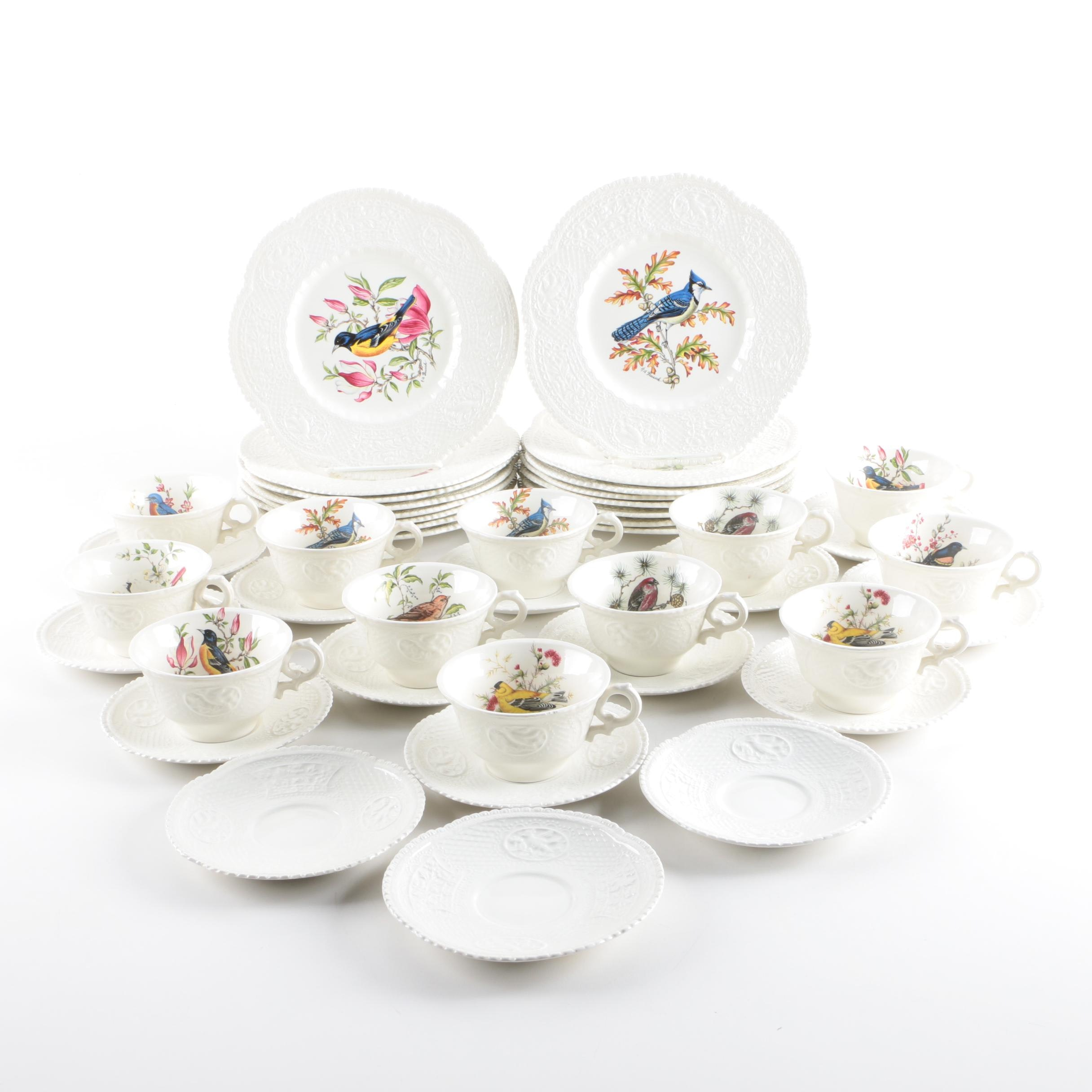 "Vintage Royal Cauldon ""Aviary"" Ironstone Tableware"