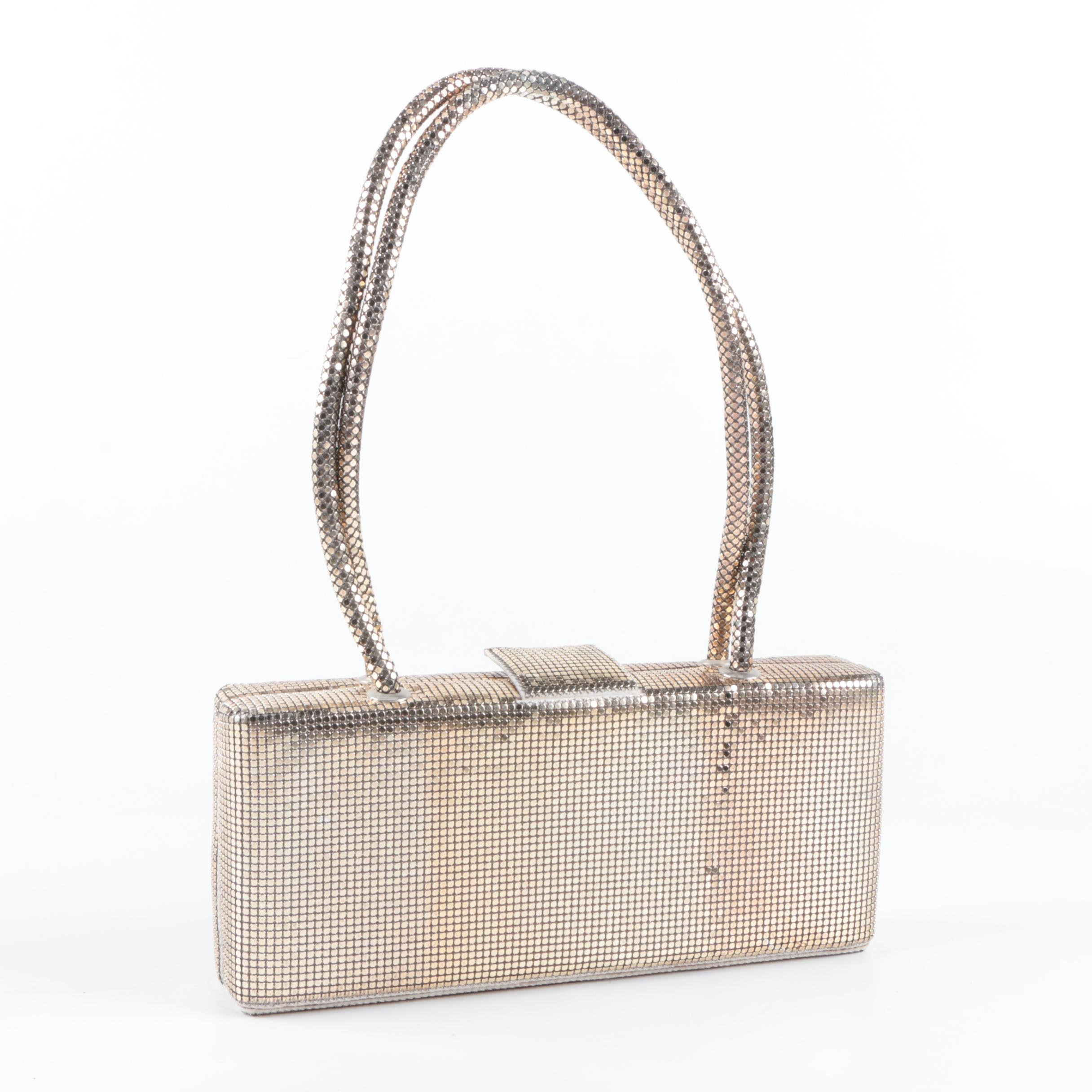 Whiting & Davis Metallic Mesh Purse