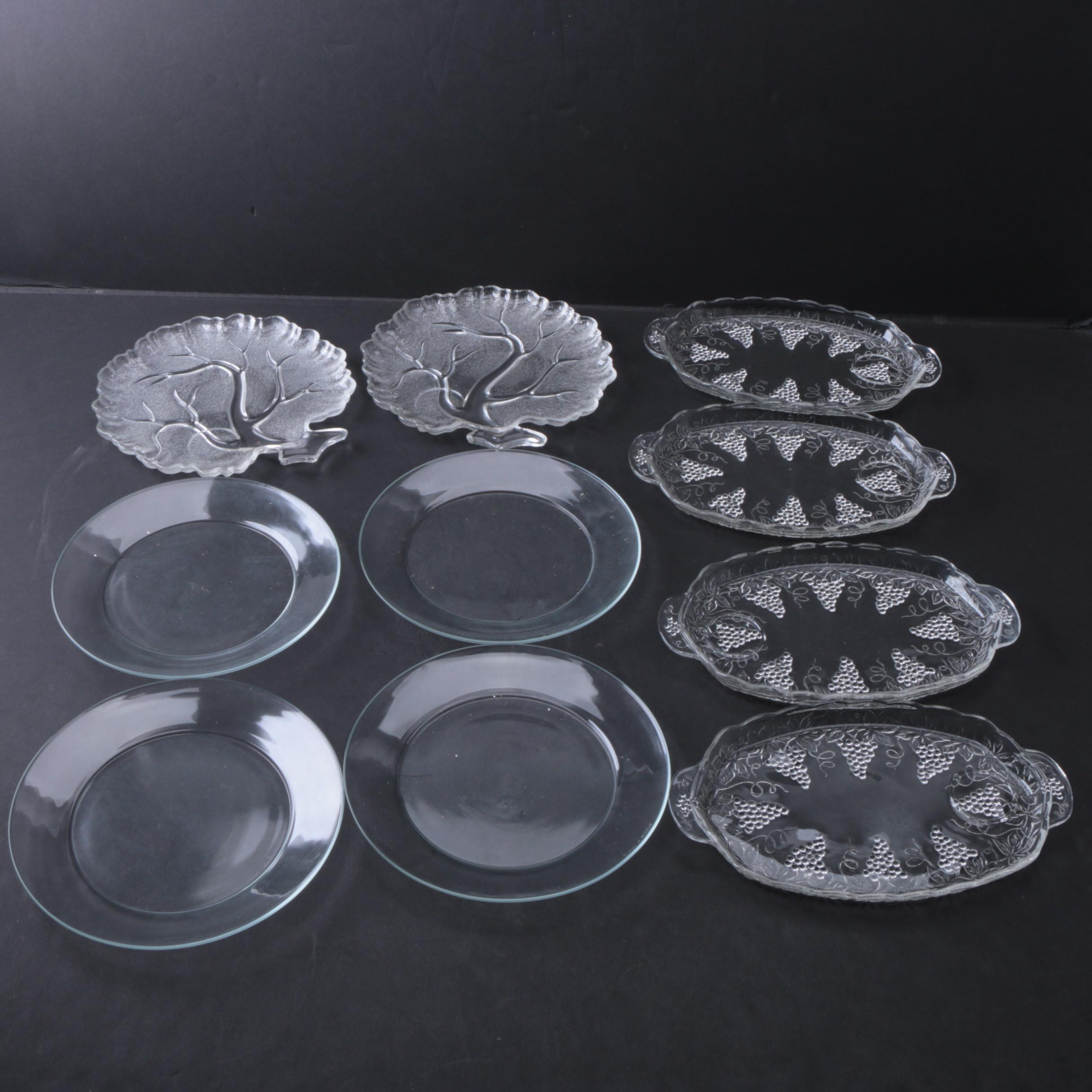 Collection of Press Glass Plates