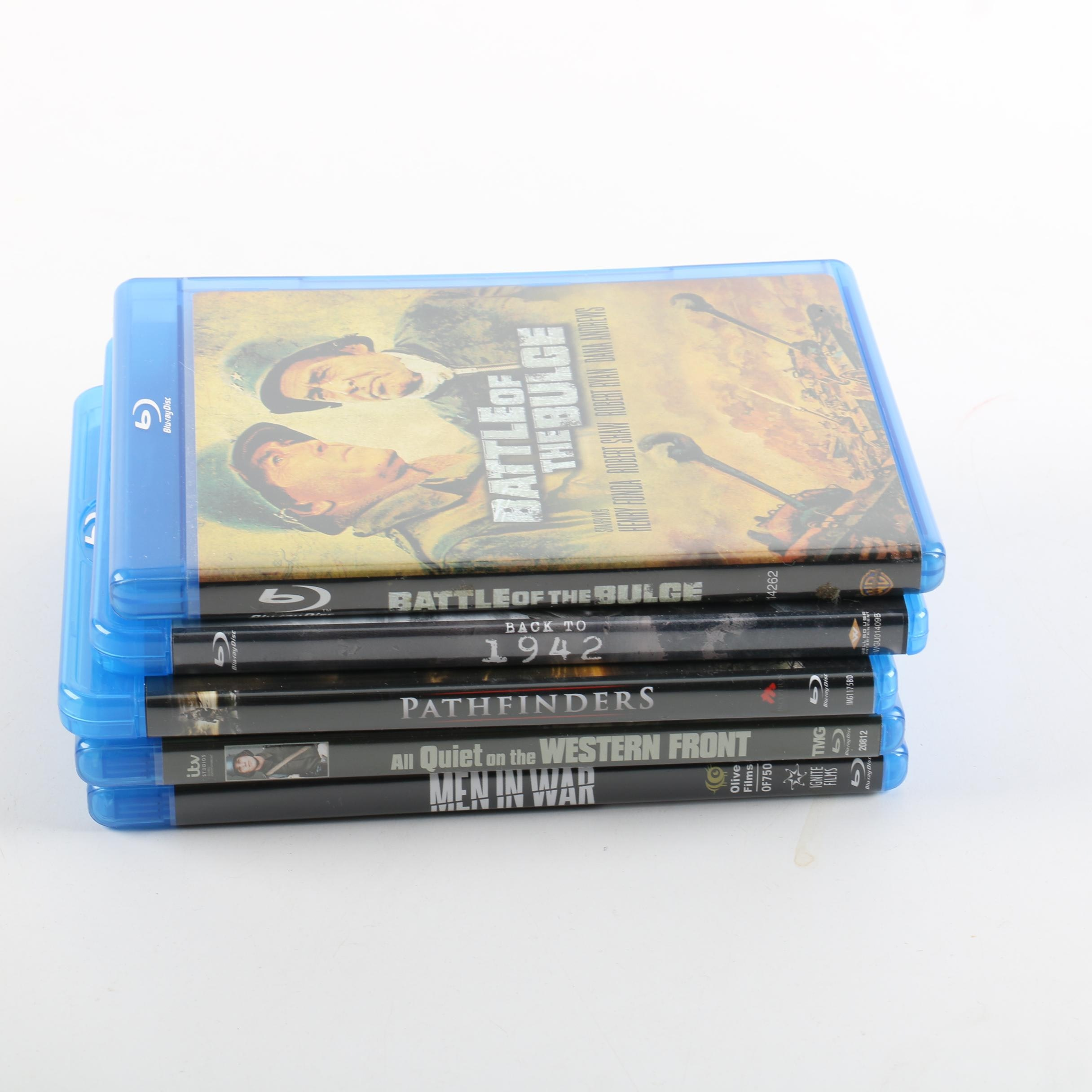 """War Film Blu-Rays Including """"Battle of the Bulge"""", """"All Quiet on Western Front"""""""