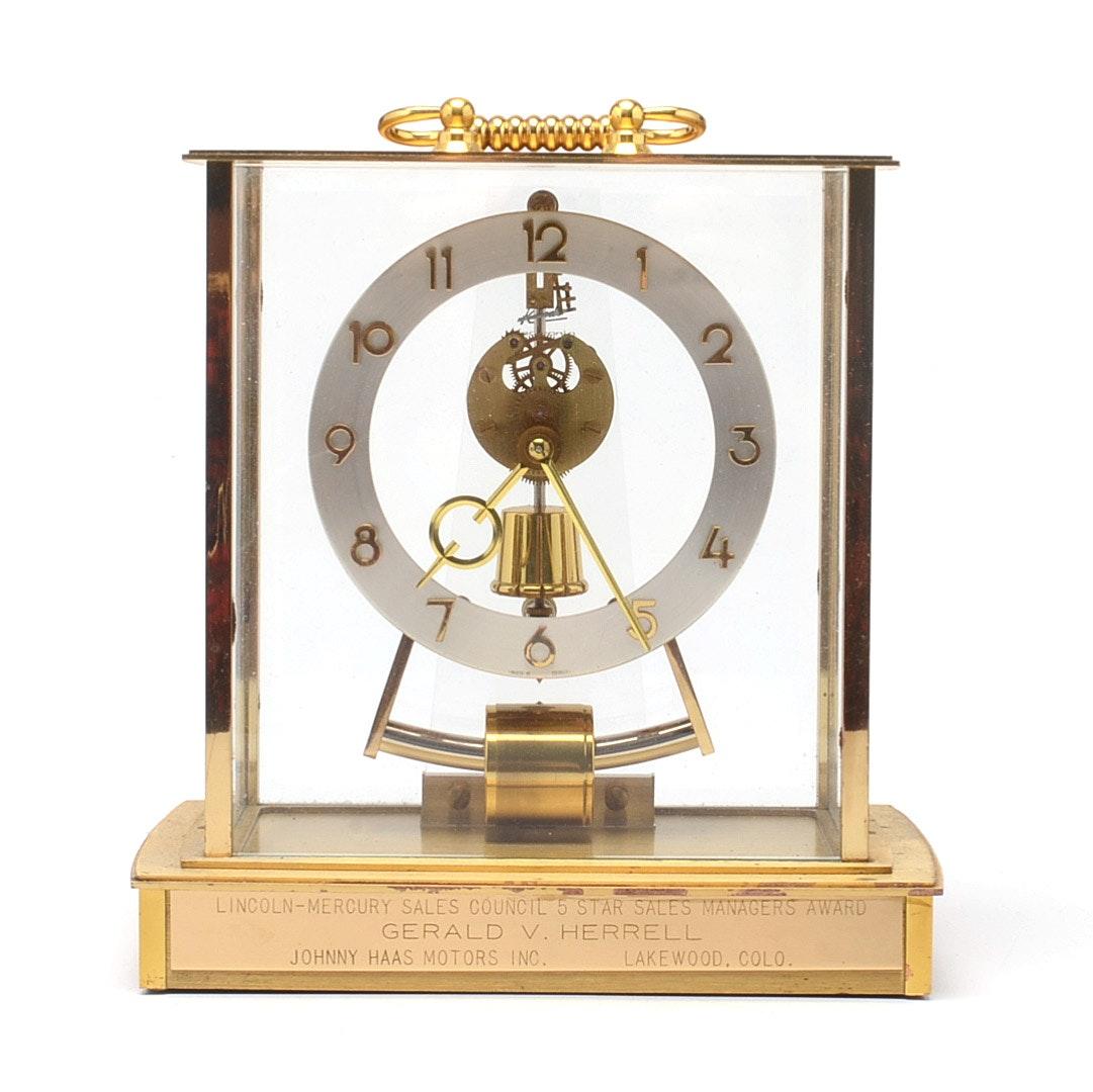 """Kundo"" Modernist Mantel Clock"