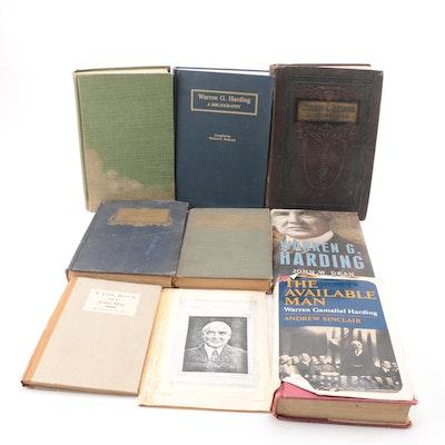 Books on President Warren G. Harding
