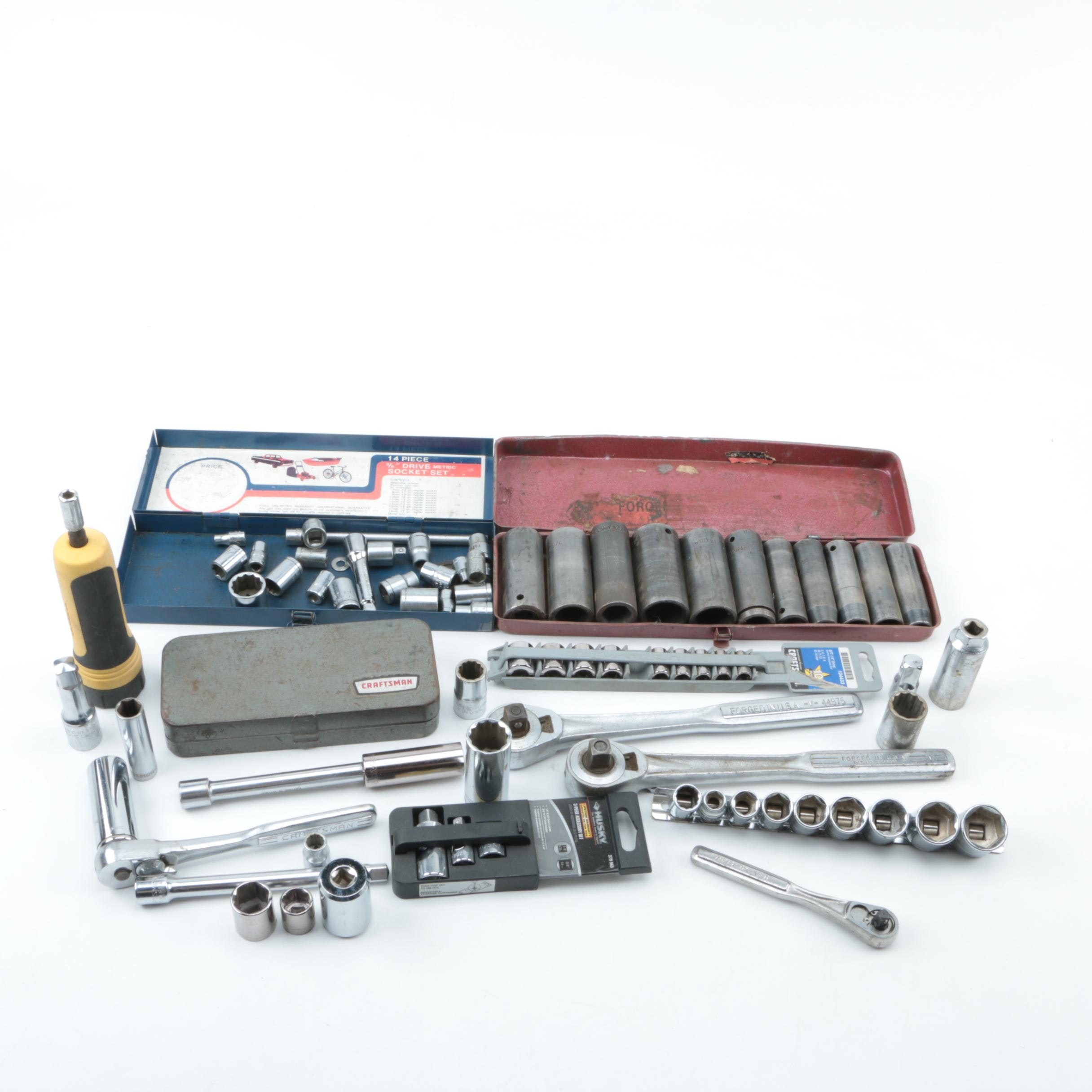 Socket Wrenches, Sockets and Accessories.