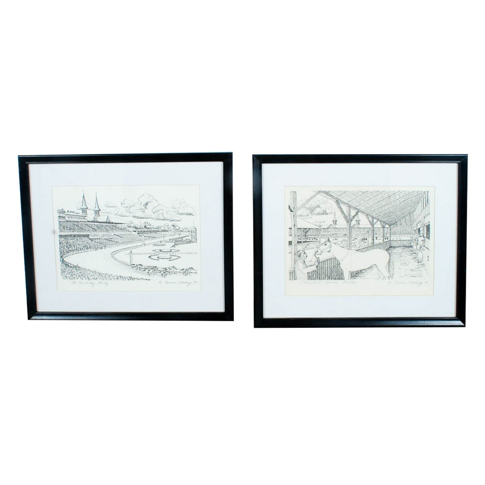 Lithographic Prints after Norman Kohlhepp