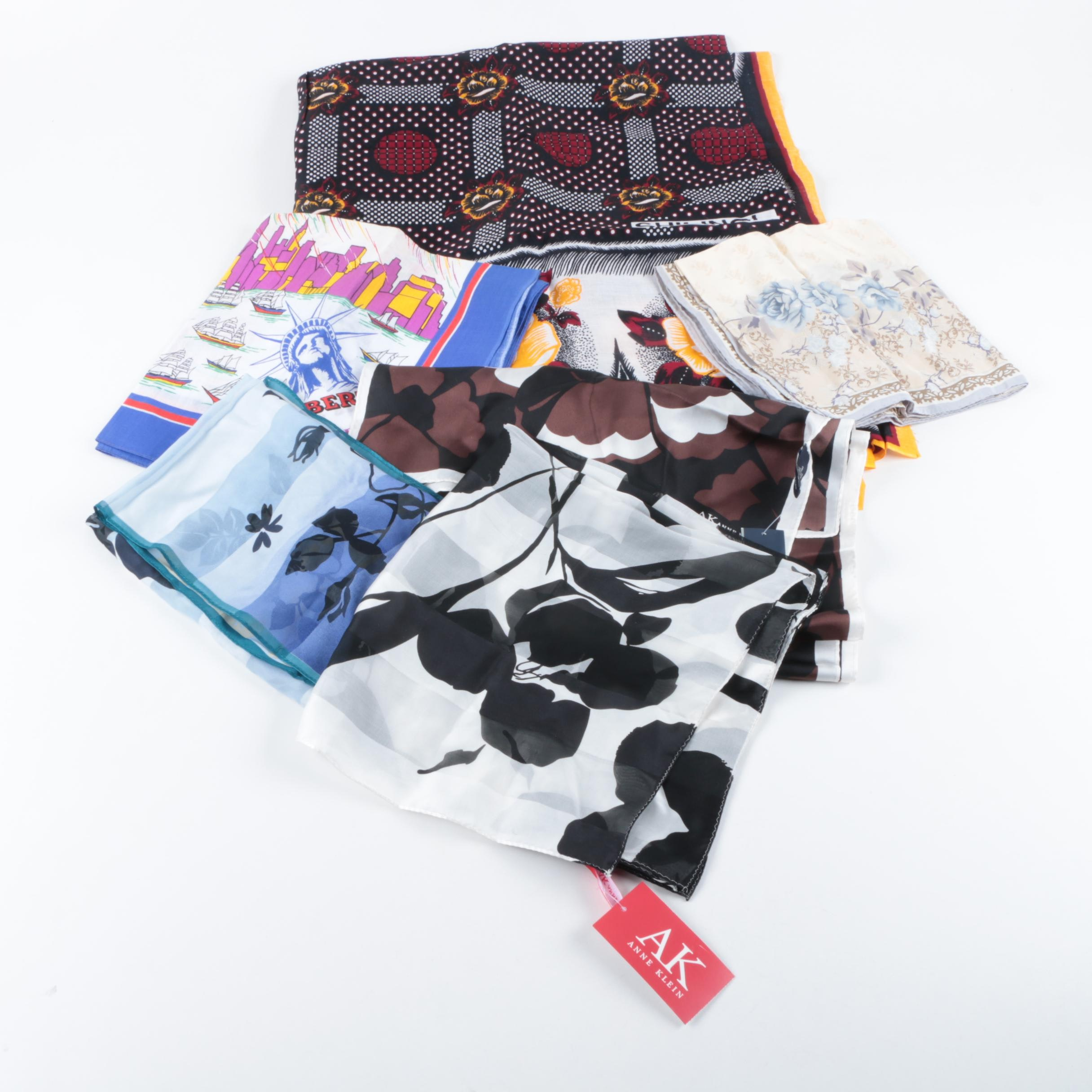 Fashion Scarves Including Centennial 1986 and Kenyan Made Scarf