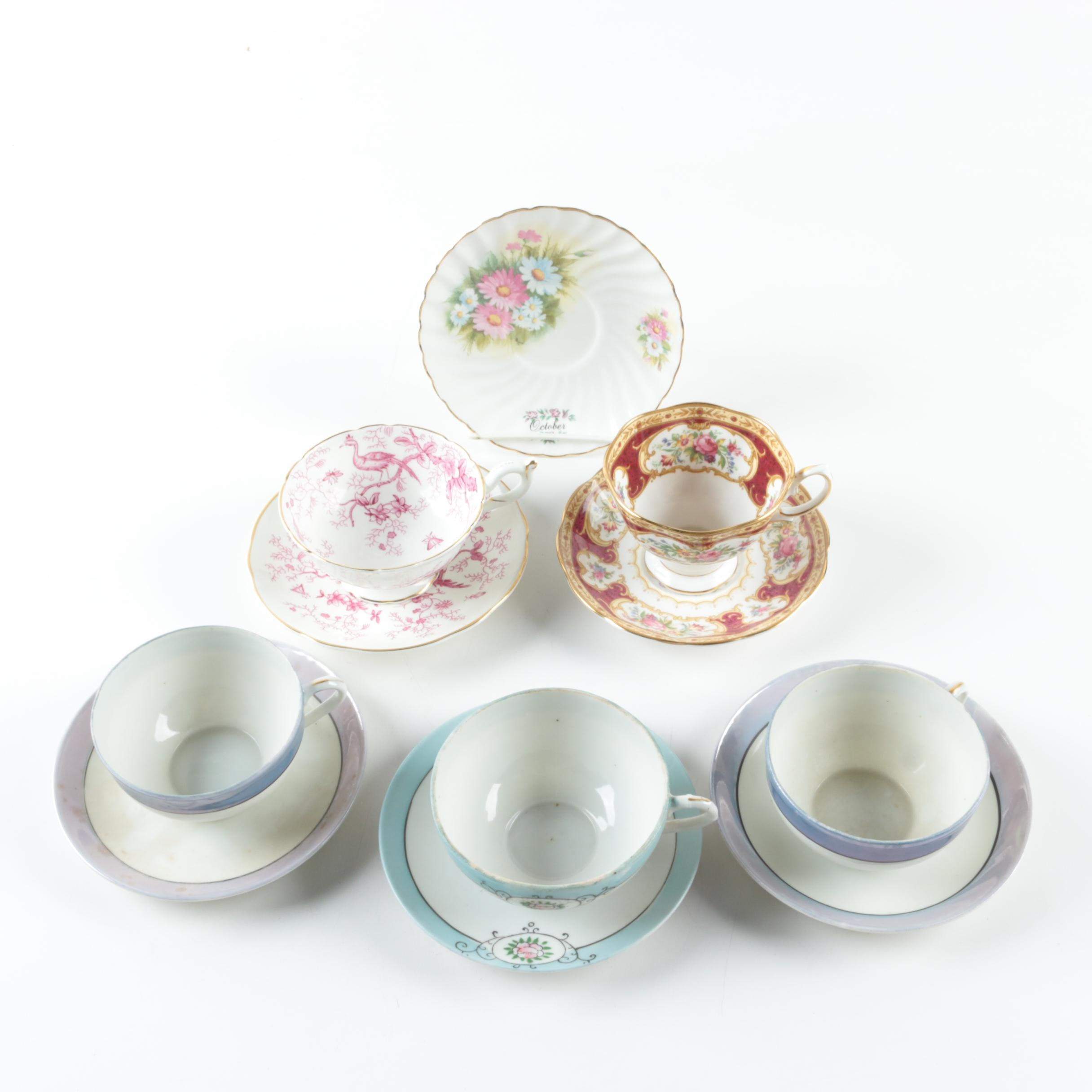 """Coalpoart """"Cairo"""" and Other Teacups and Saucers"""