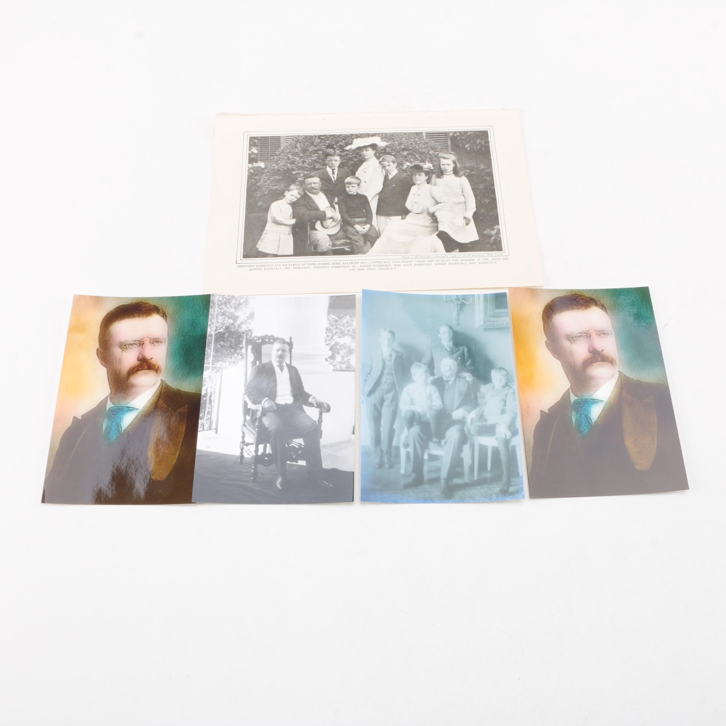 Theodore Roosevelt and Family Photographs
