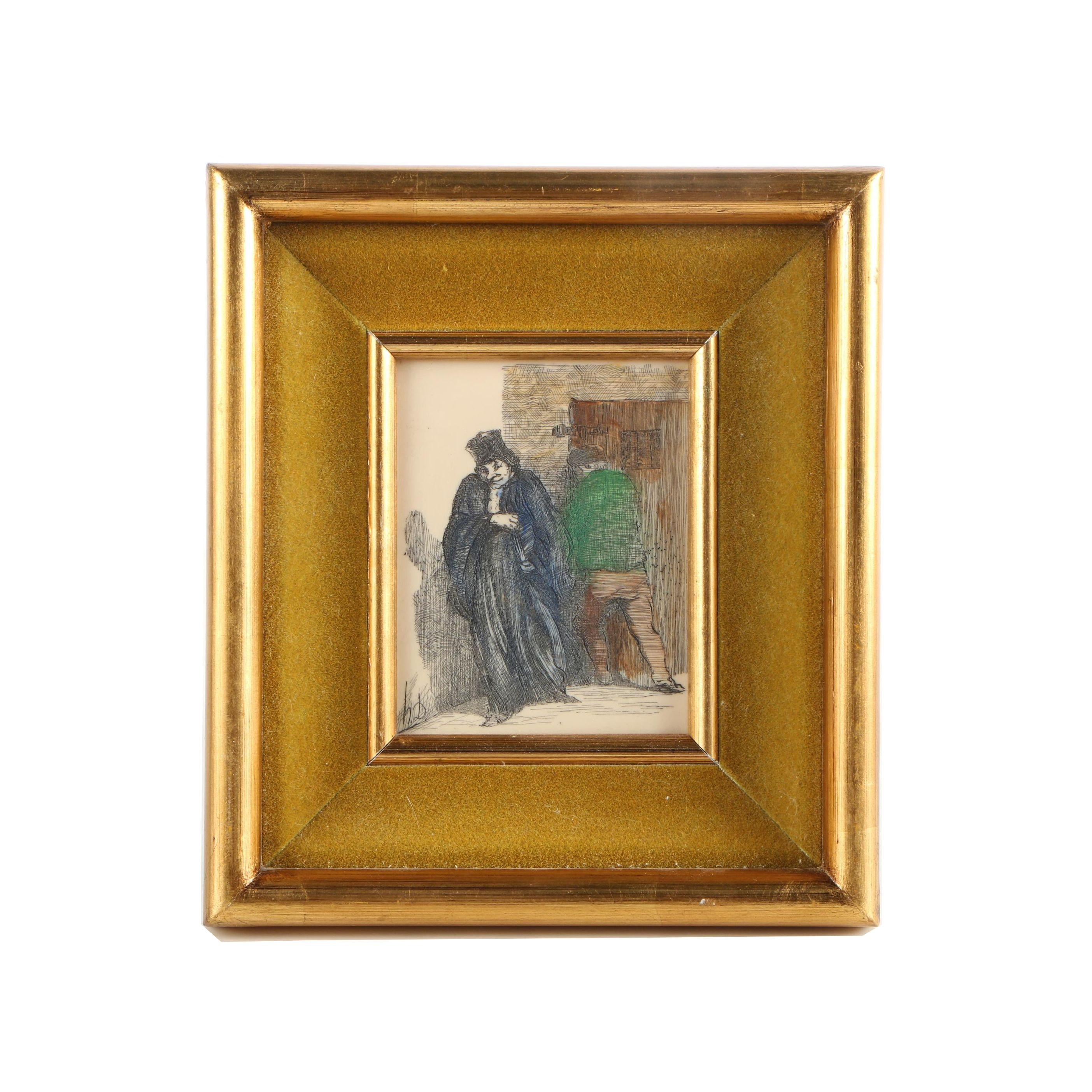 H.D. Resin Engraving of Figures