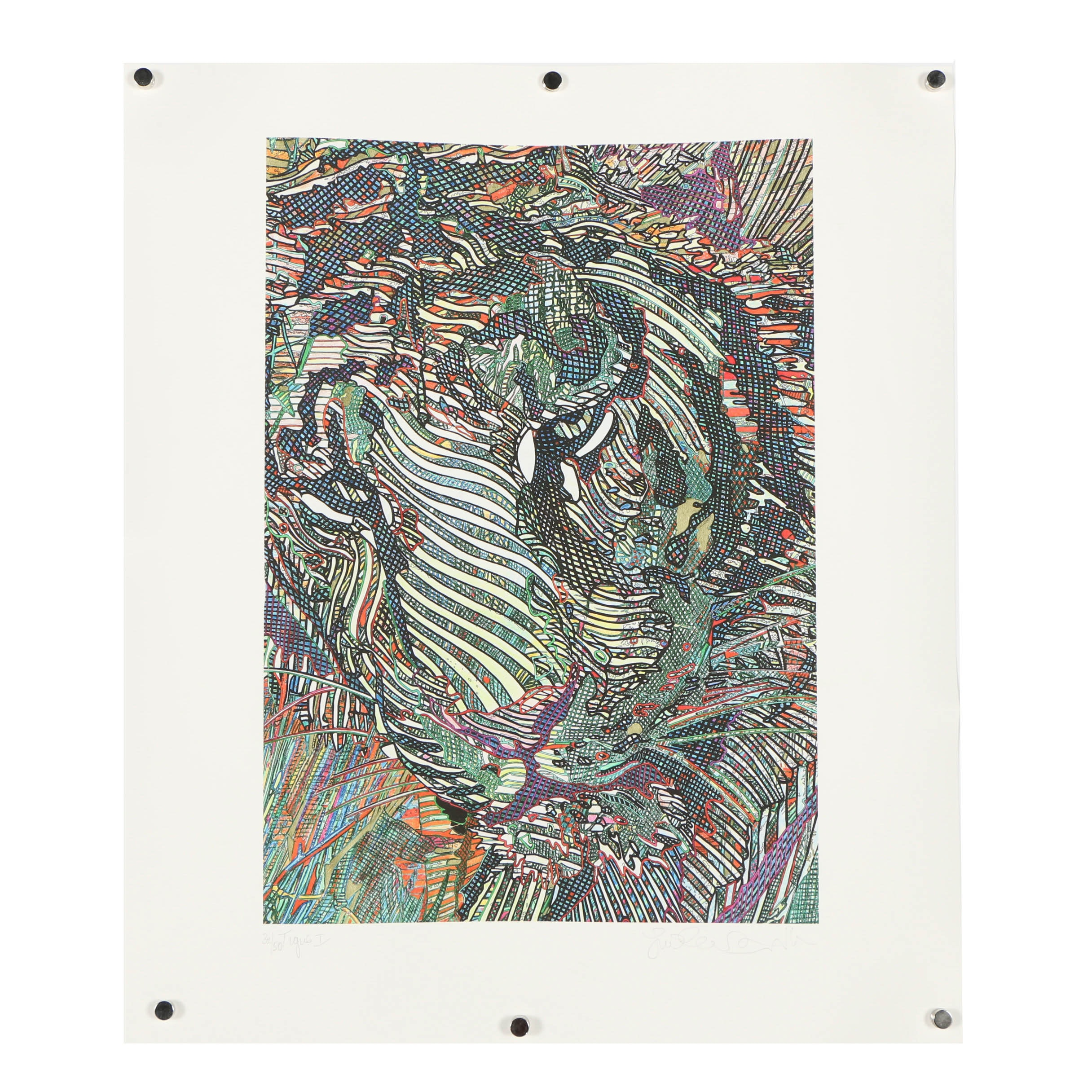 """Guillaume Azoulay Giclee """"Tigris I"""""""