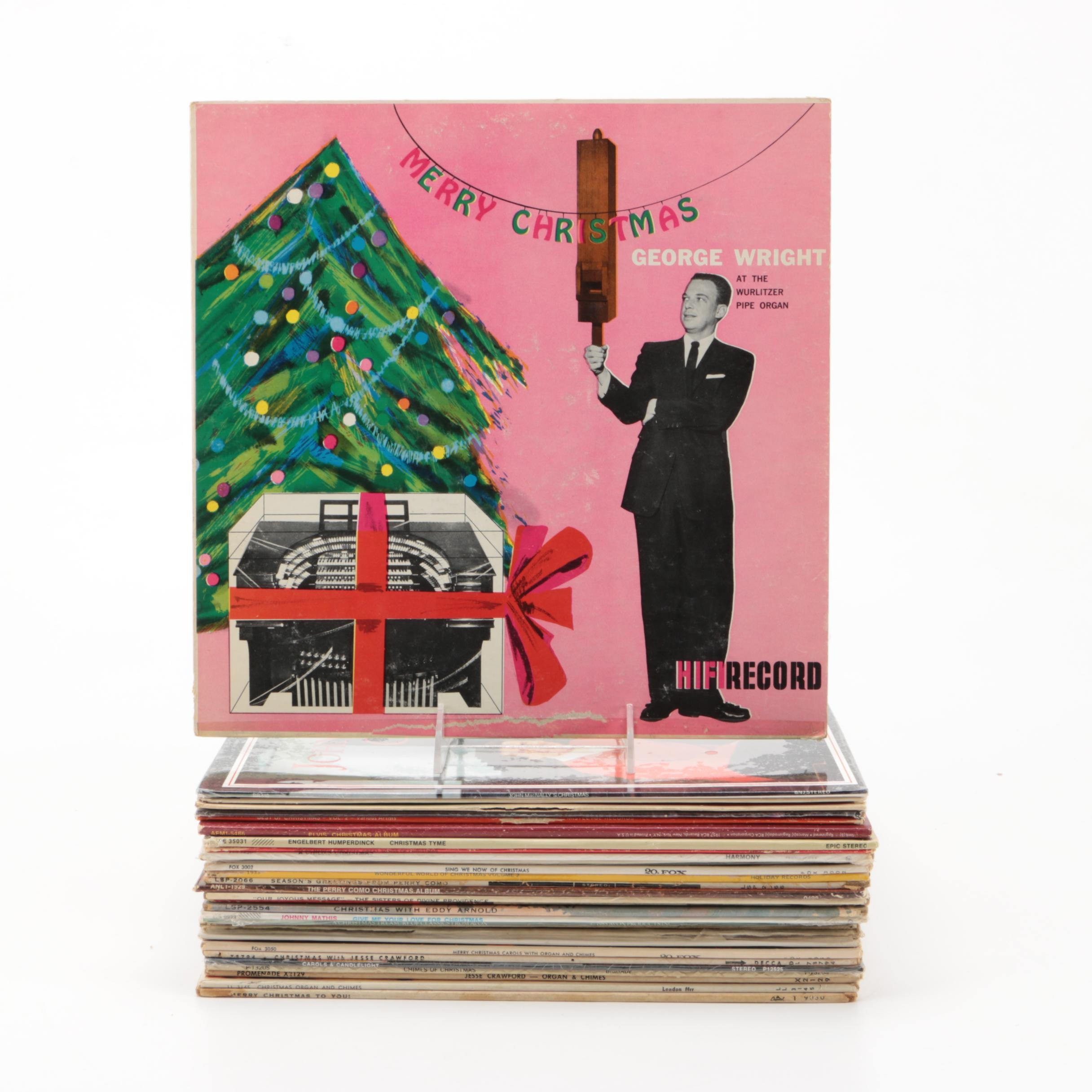 Christmas Records Featuring Engelbert Humperdinck and Perry Como