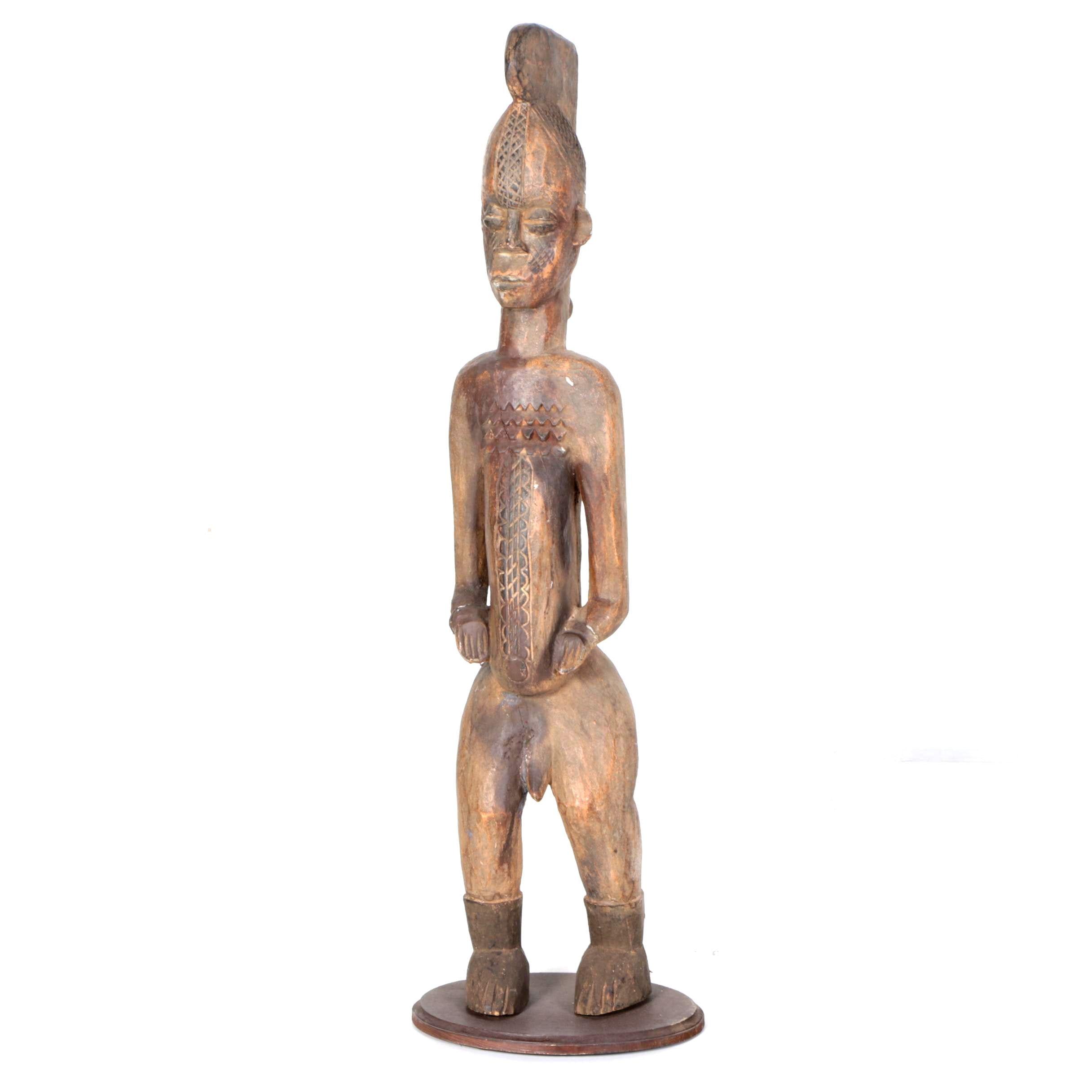 Luba Style Figural Sculpture
