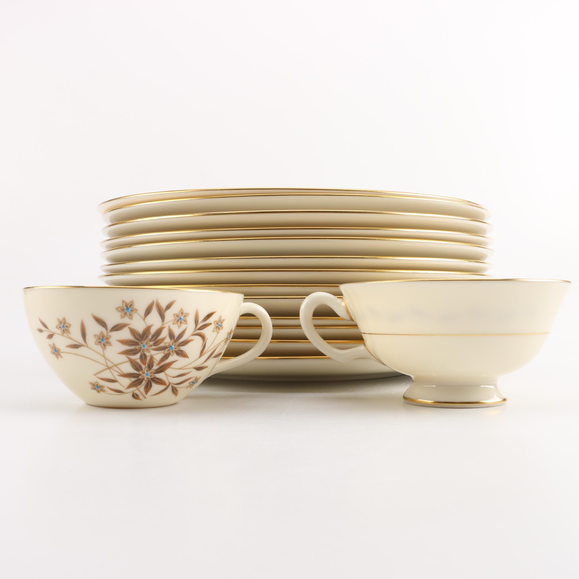 """Lenox """"Starlight"""" Porcelain Tableware"""