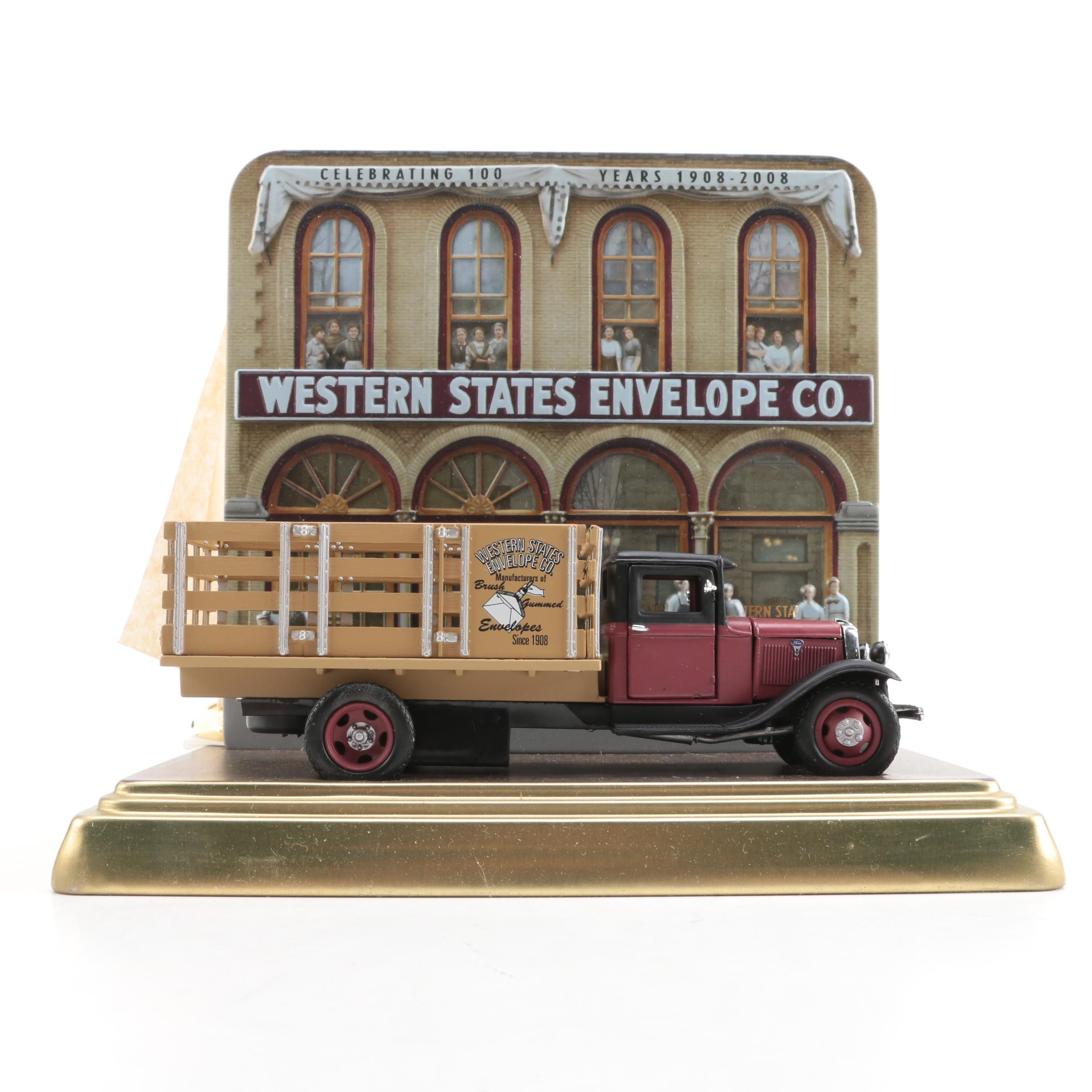 Western States Envelop Co. Die-Cast Truck
