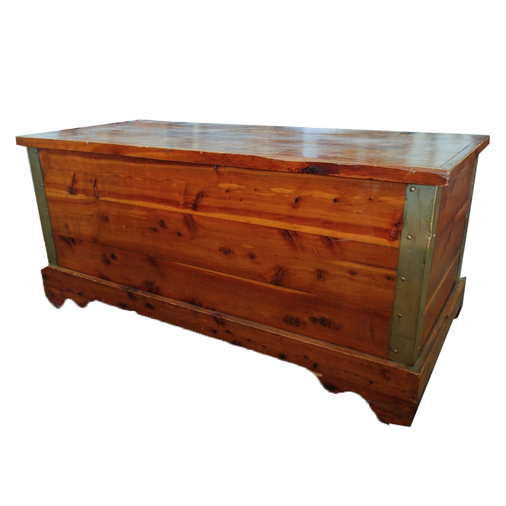 Cedar Chest with Metal Detail