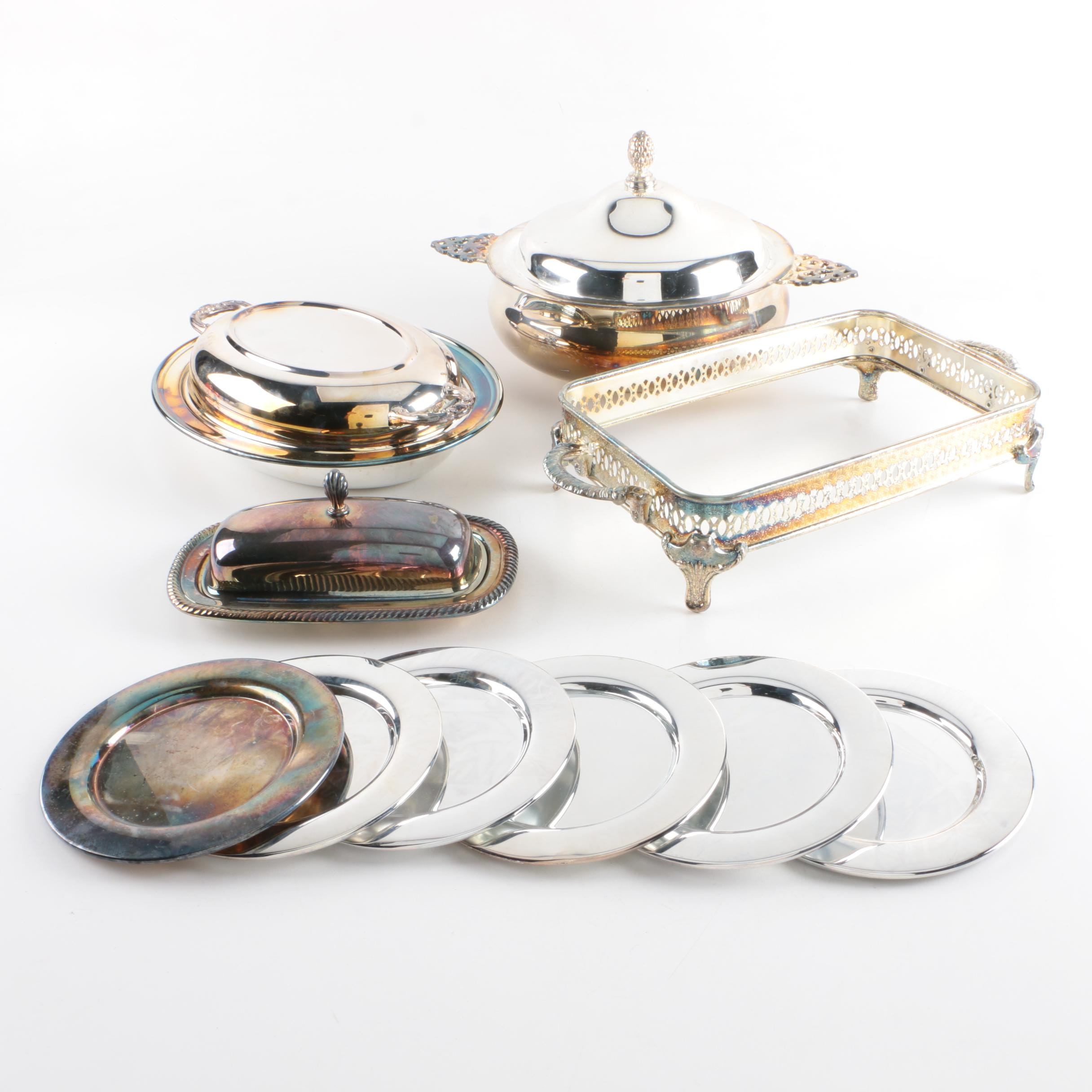 Oneida and Other Silver-Plated Tableware