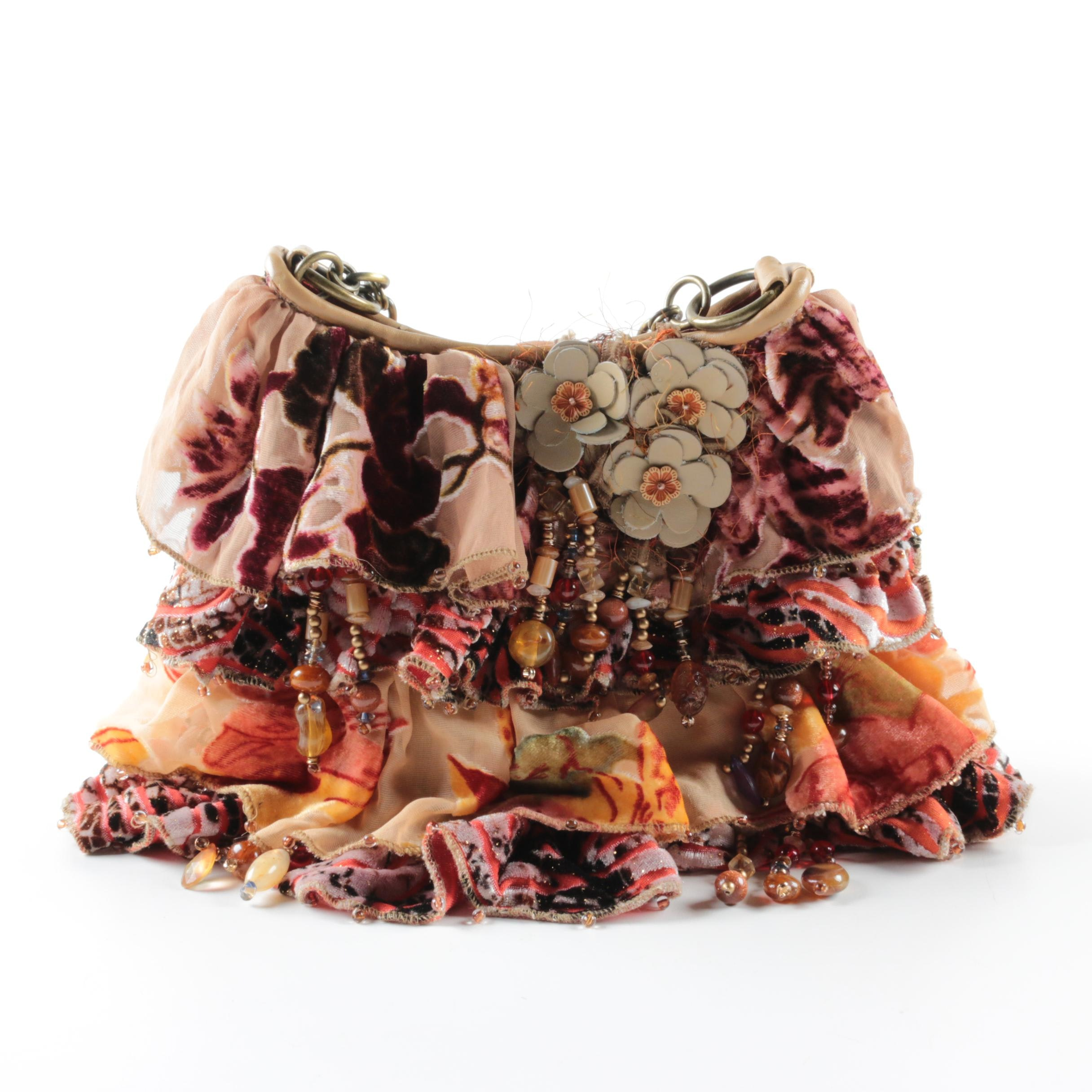 Mary Frances Shoulder Bag with Matching Scarf