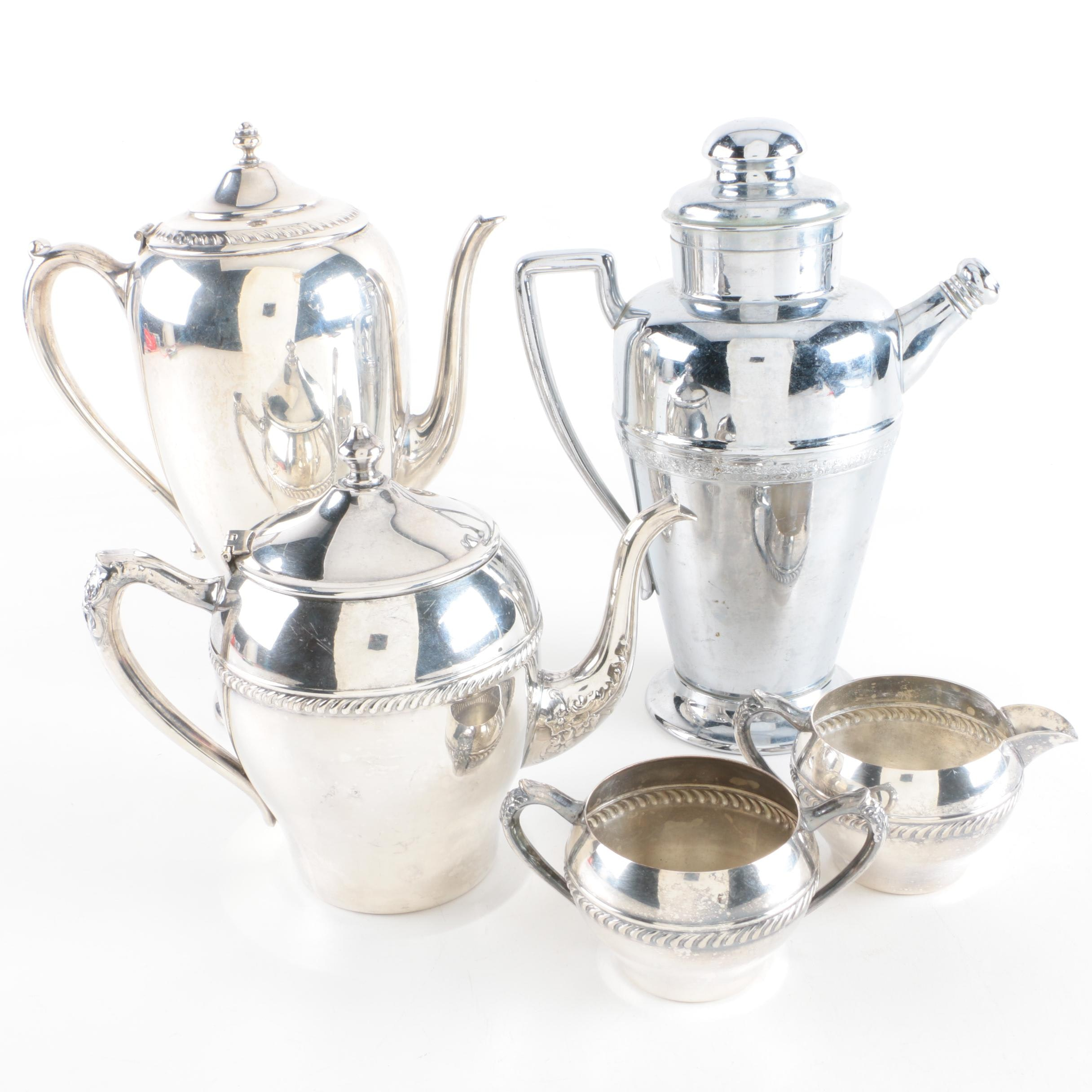 Silver Plate and Stainless Steel Serveware Featuring Forbes