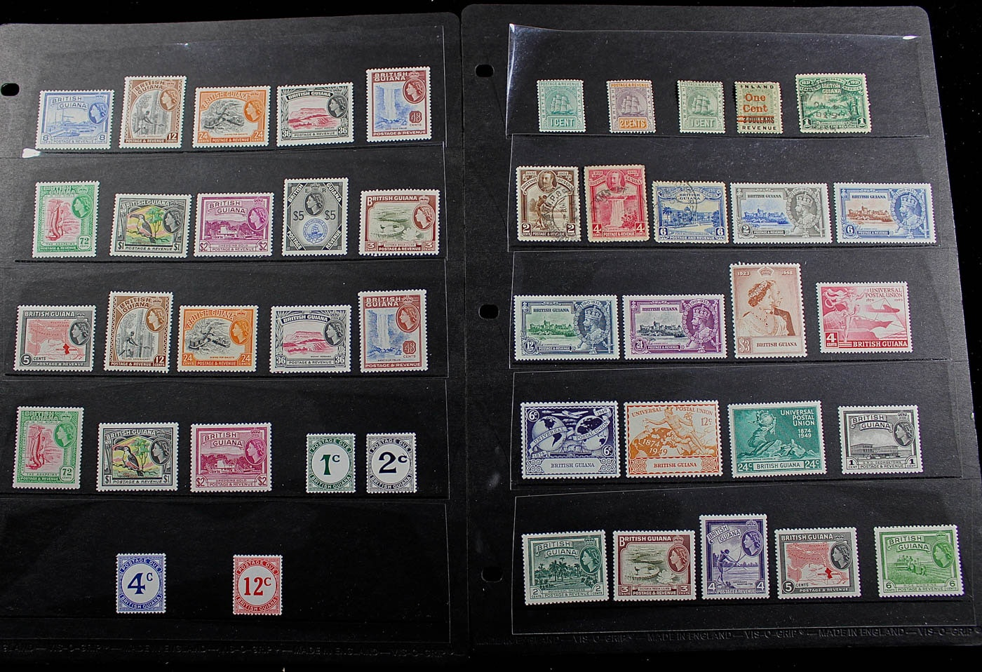 British Guiana Stamp Collection