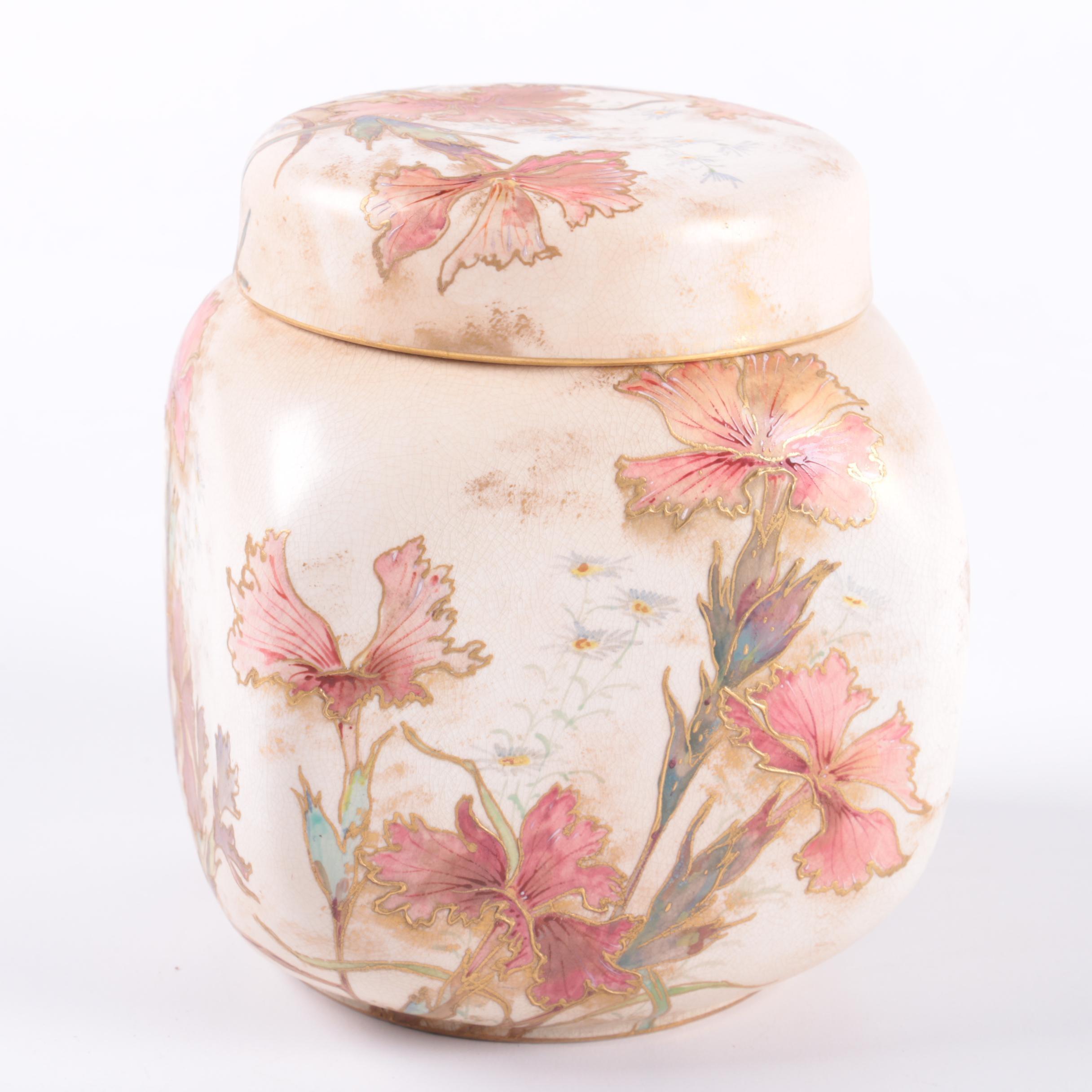 Doulton Burslem  Floral Urn