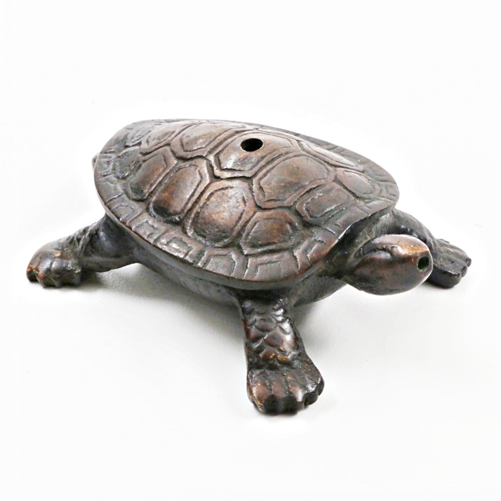 Antique Chinese Bronze Turtle Water Dropper