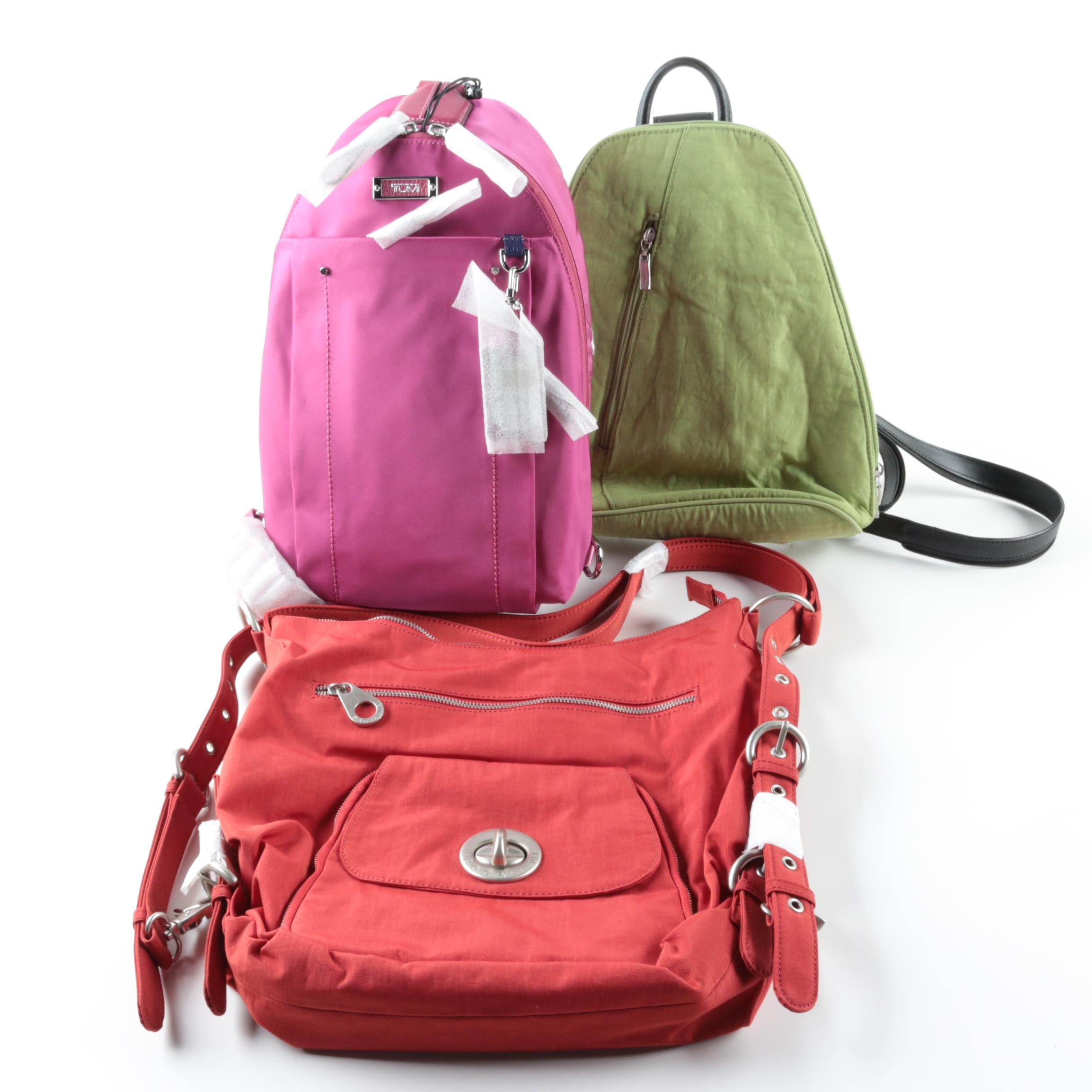 Tumi and Baggallini Backpack Purses