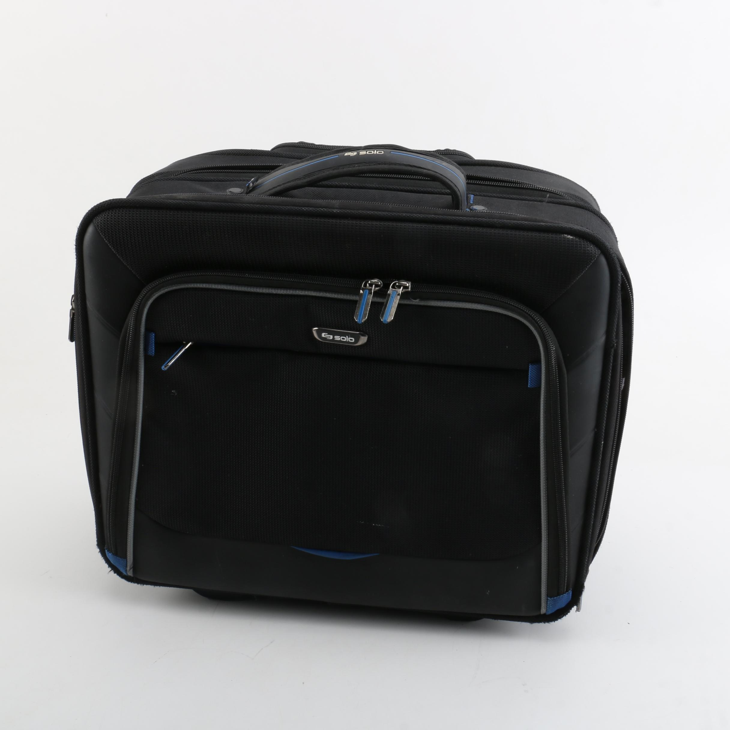 Solo Nylon Carry on Luggage
