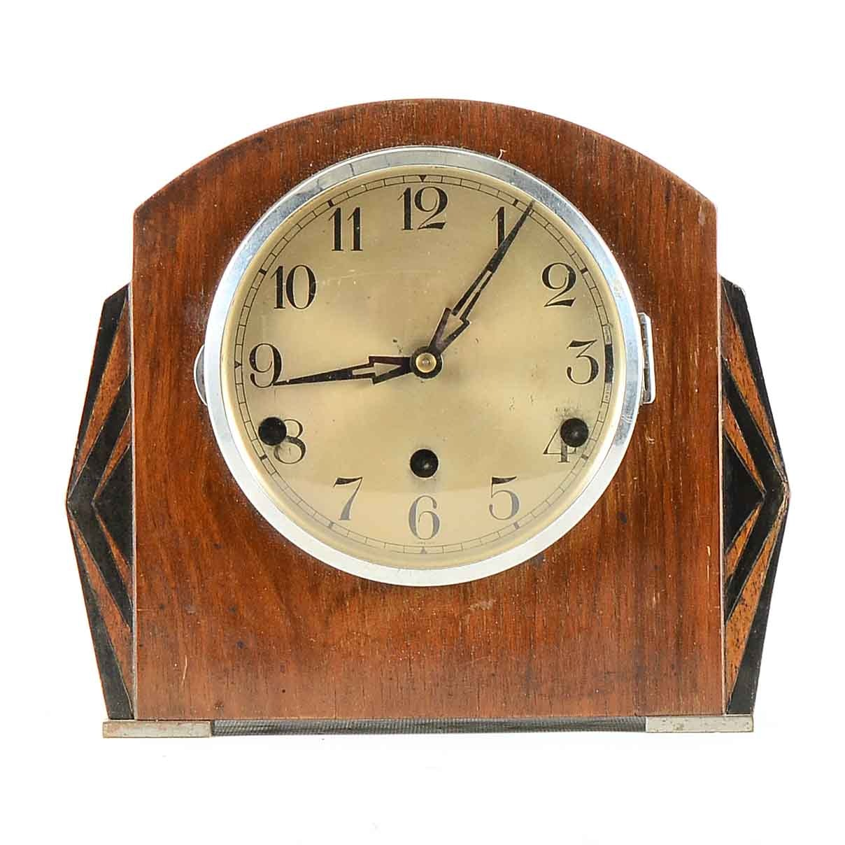 Perivale Art Deco Mantel Clock