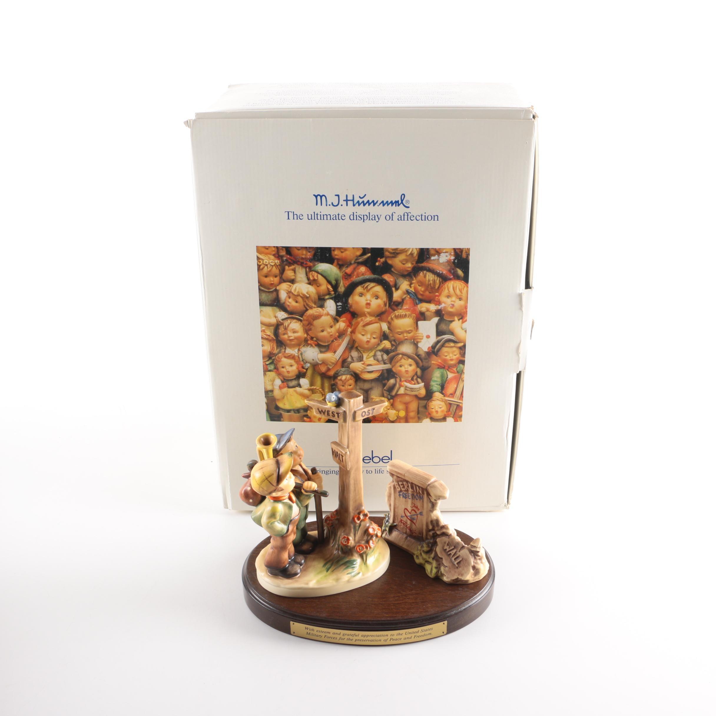 Limited Edition Berlin Wall Hummel Figurine