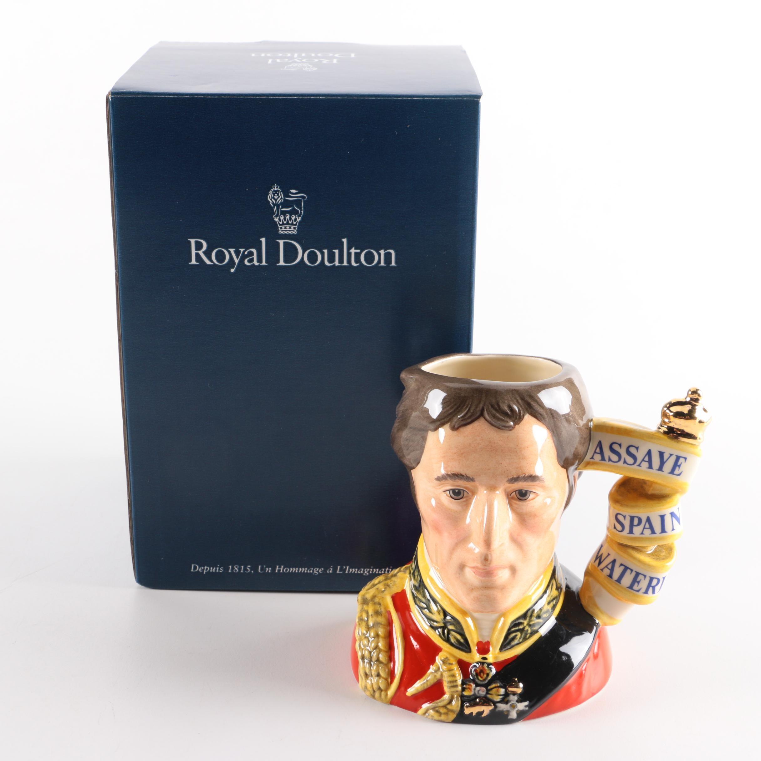 "1995 Royal Doulton ""Wellington"" Character Jug"
