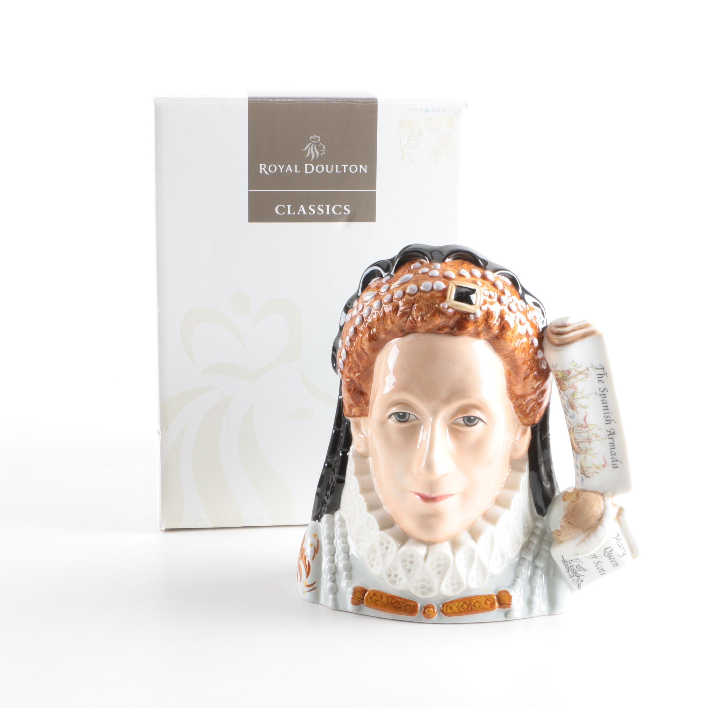"Royal Doulton ""Queen Elizabeth I"" Character Mug"