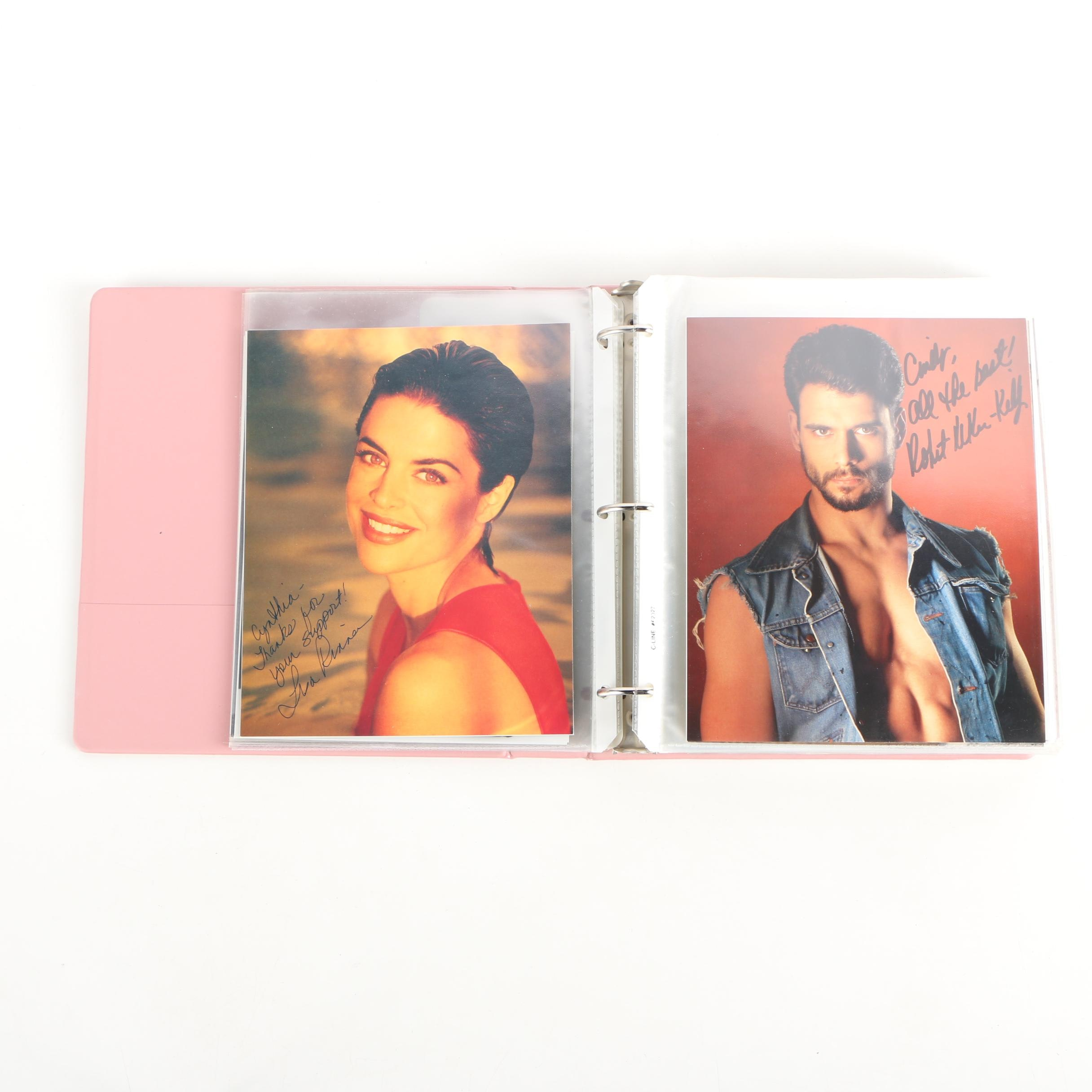 Autograph Album of Soap Opera Stars