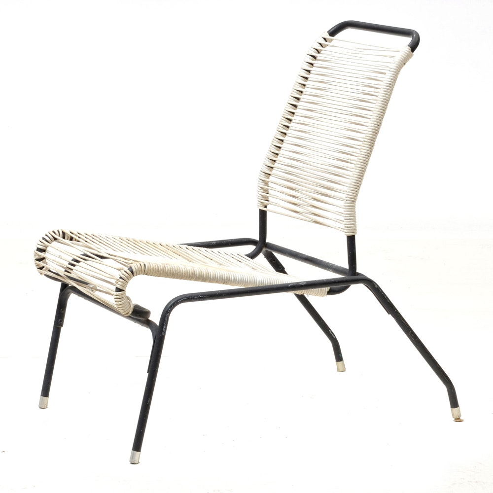 Vintage Mid Century Modern Aimes Aire Style Patio Chair