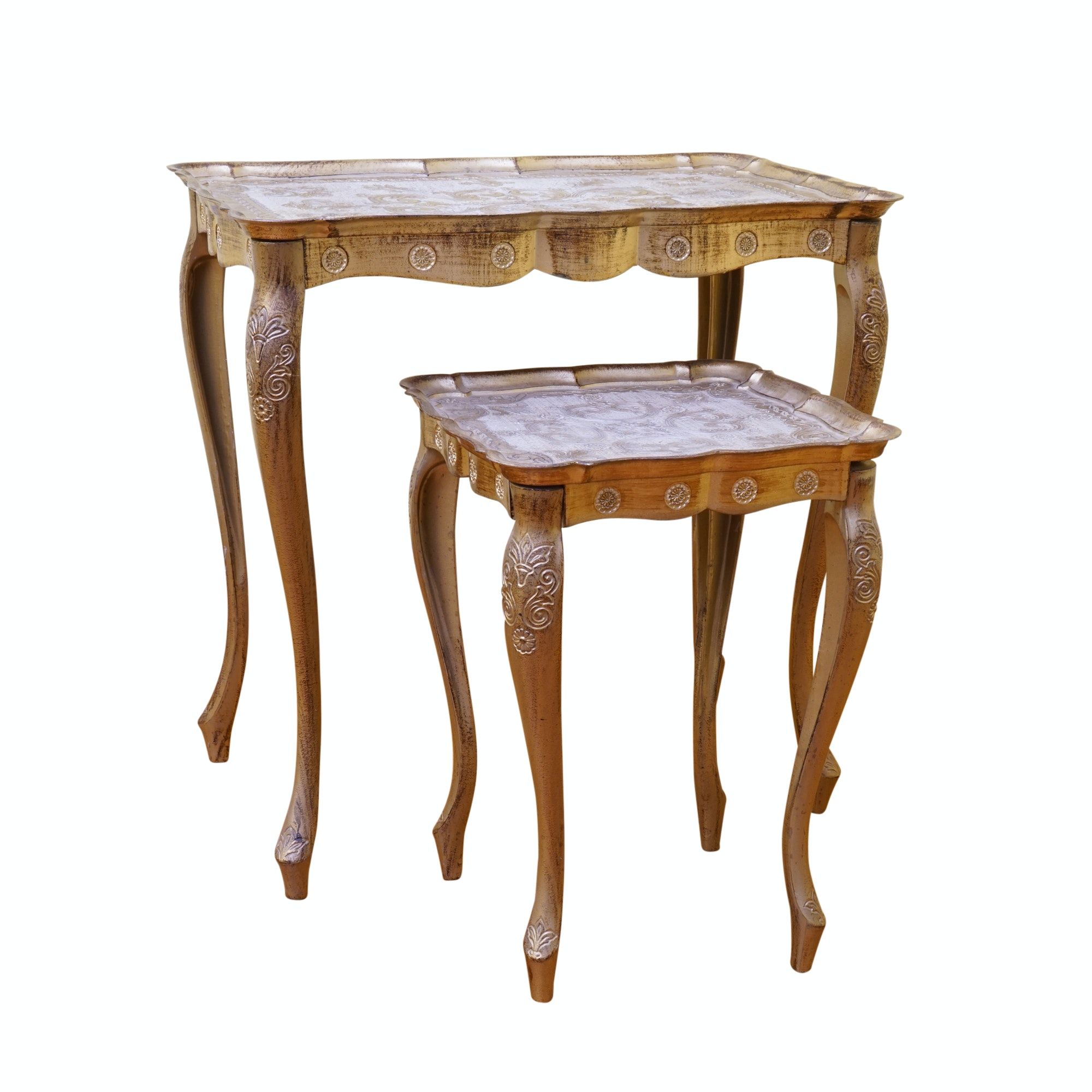 Nesting Tables Made in Florence, Italy
