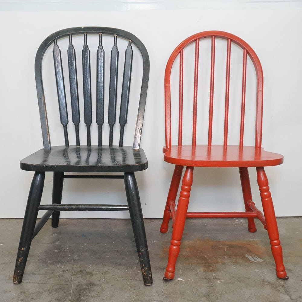 Pair of Windsor Style Chairs