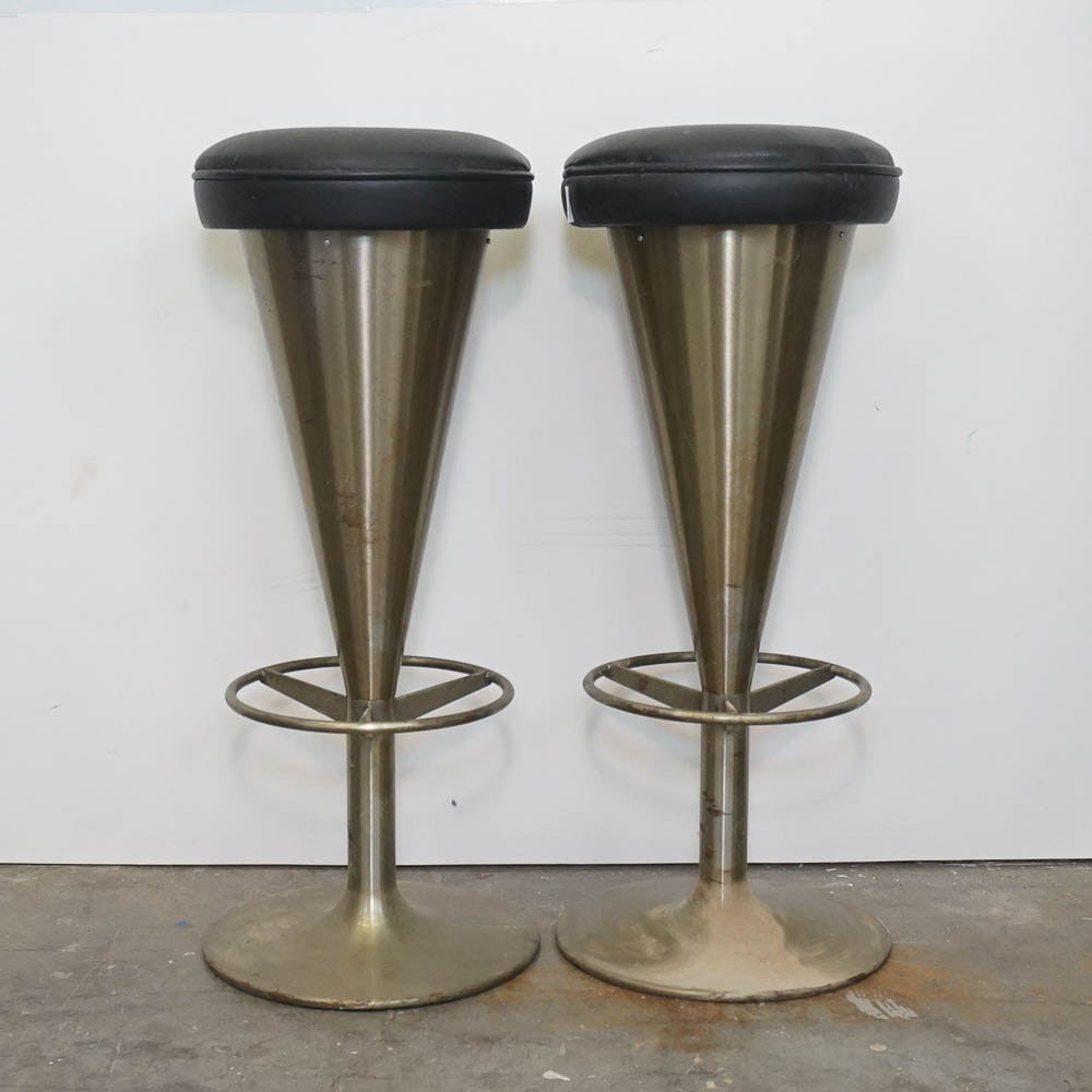Pair of Modernist Stools by Johanson Design