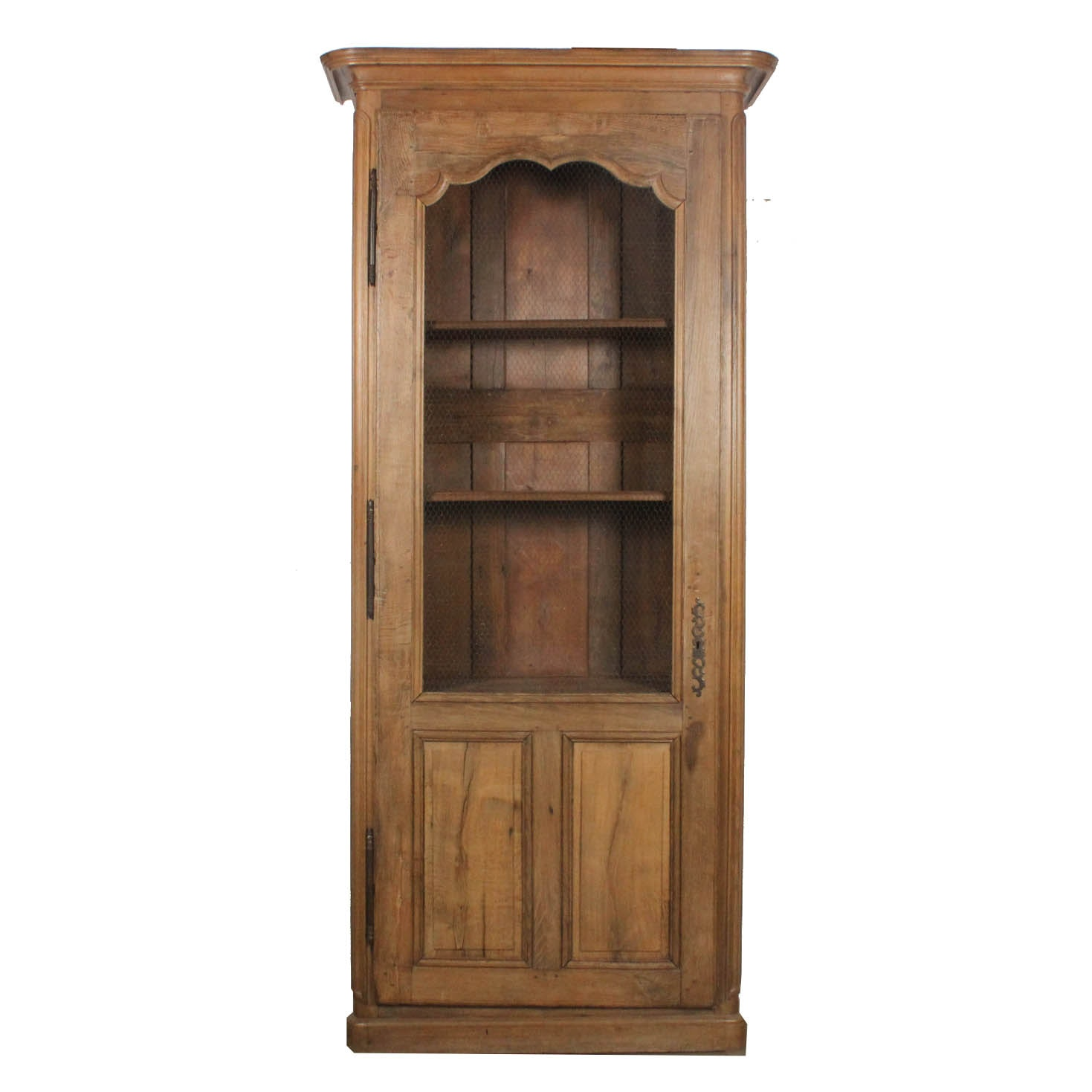 Antique 9' Oak Display Cabinet