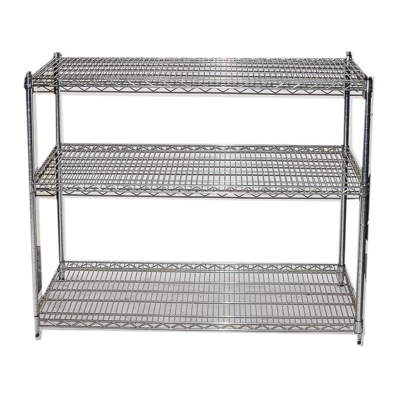 Metal Three Shelf Bakeru0027s Rack By Trinity ...