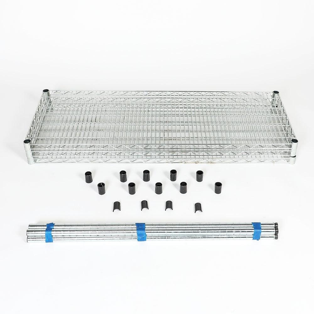 Metal Three Shelf Baker's Rack by Trinity