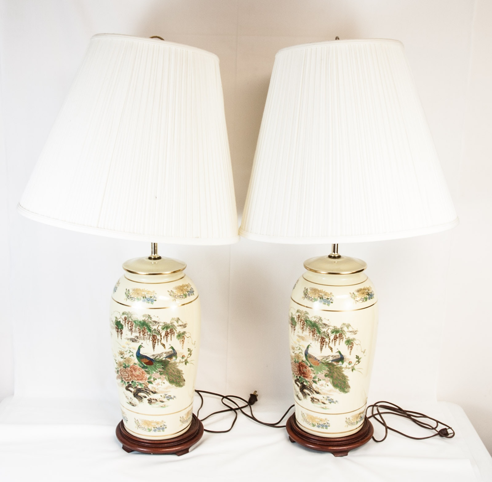 Pair of Chinoiserie Table Lamps