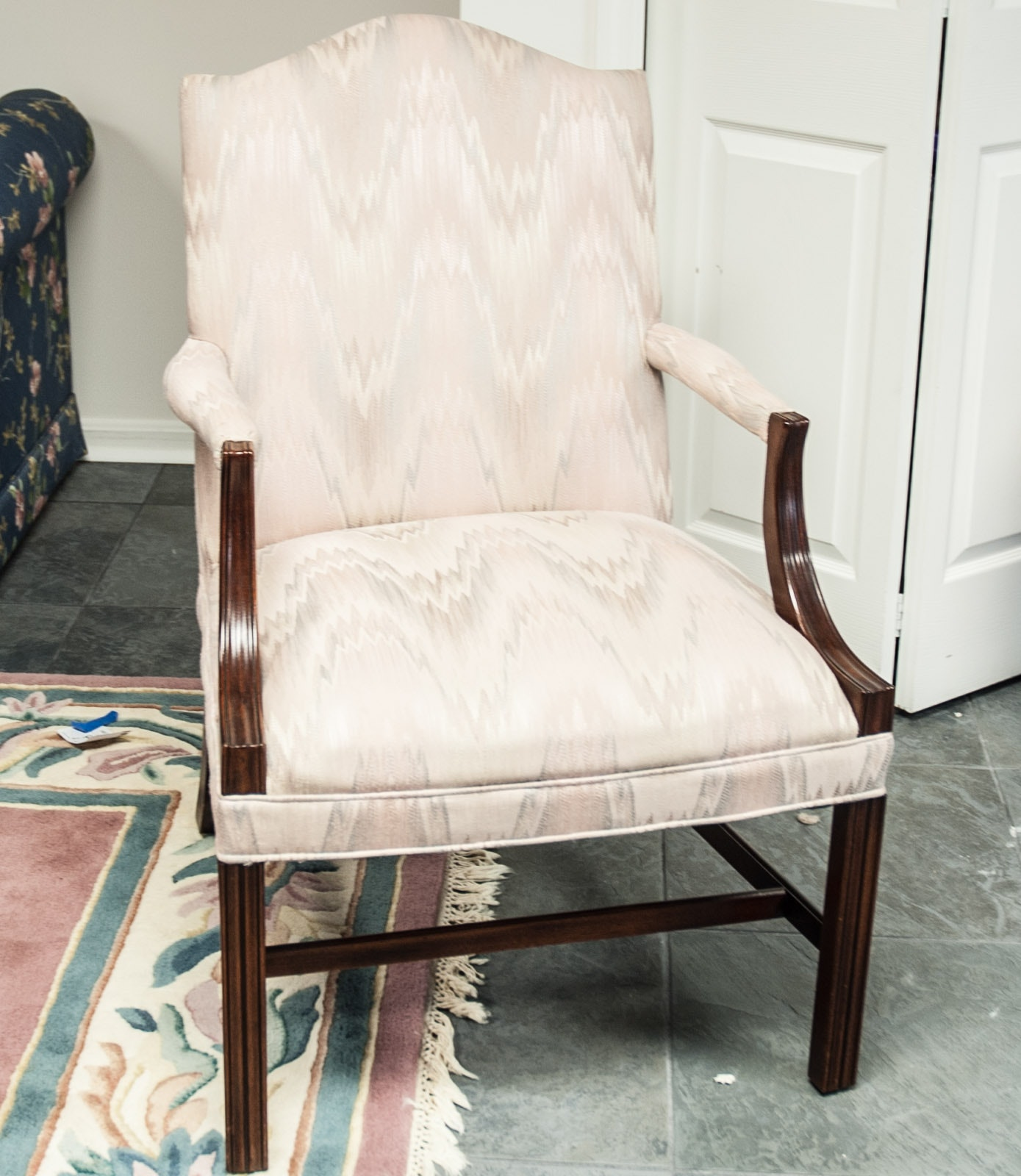 Chippendale Style Library Chair by Leugers Furniture Company