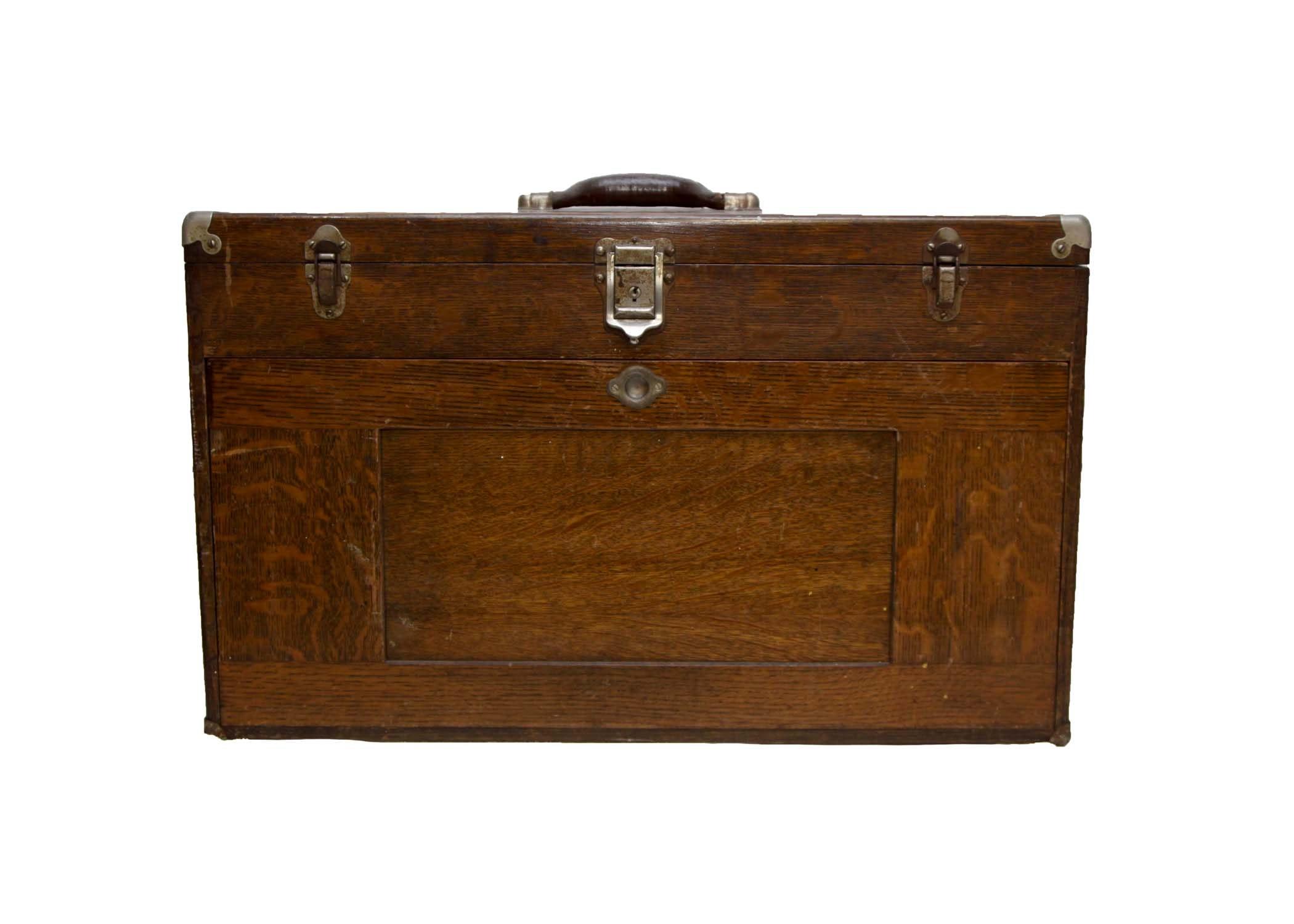 H. Gerstner & Sons Vintage Wooden Toolbox