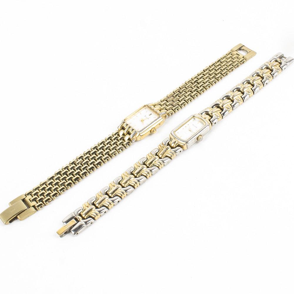 Pair of Bulova Wristwatches